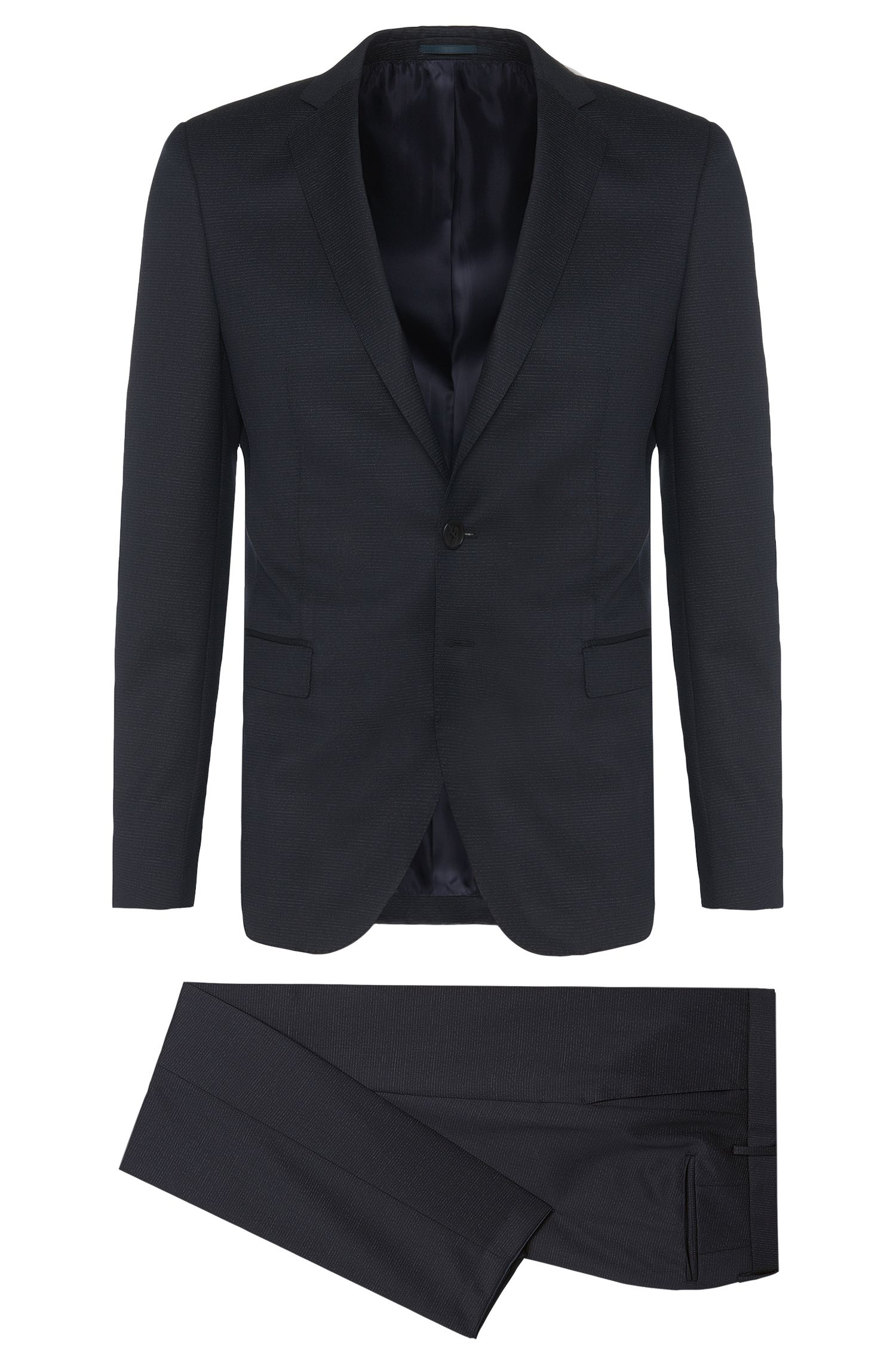 'Rocco/Wyatt' | Extra Slim Fit, Subtle Stripe Virgin Wool Suit