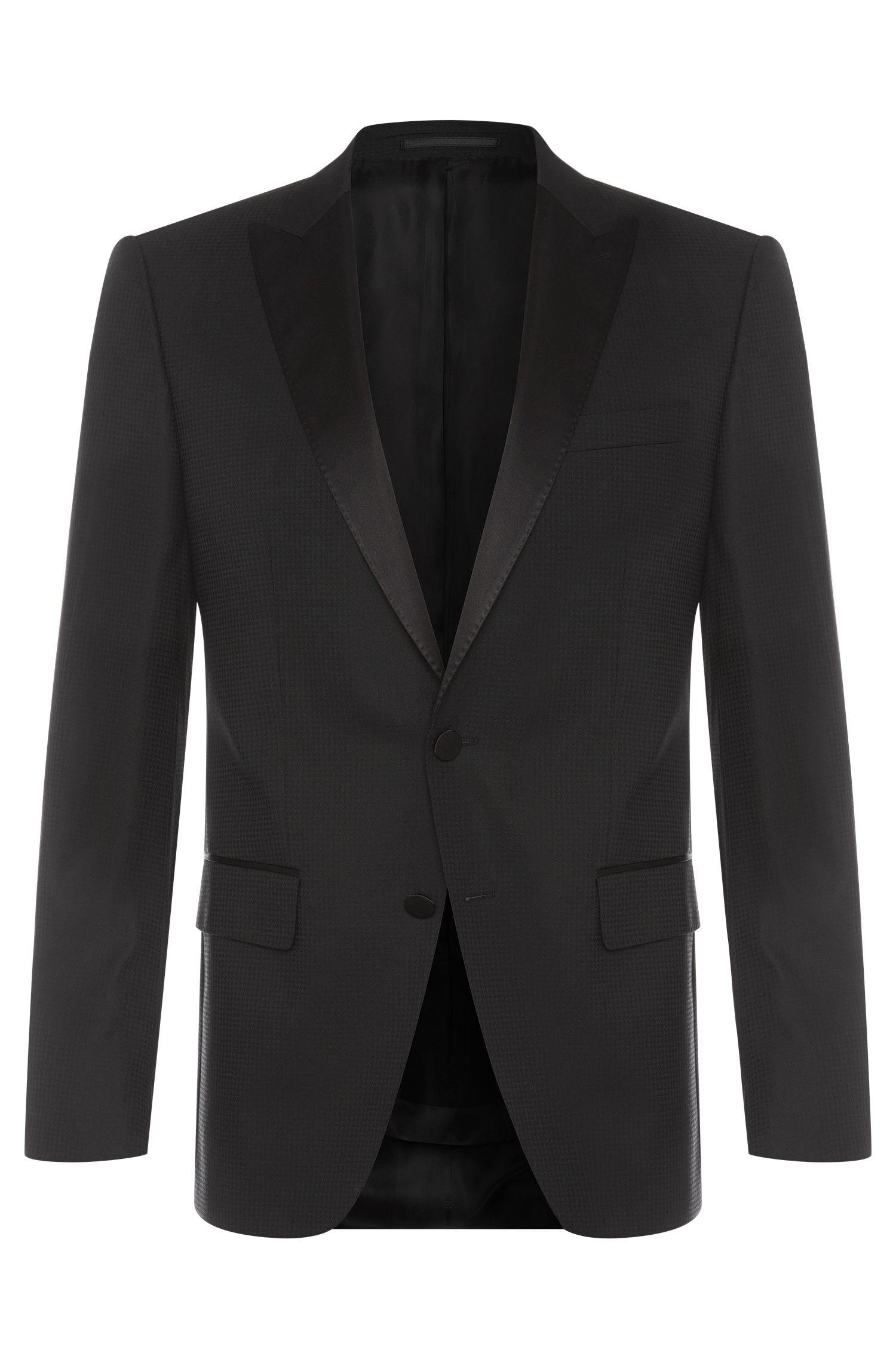 'Haimon' | Slim Fit, Virgin Wool Blend Dinner Jacket