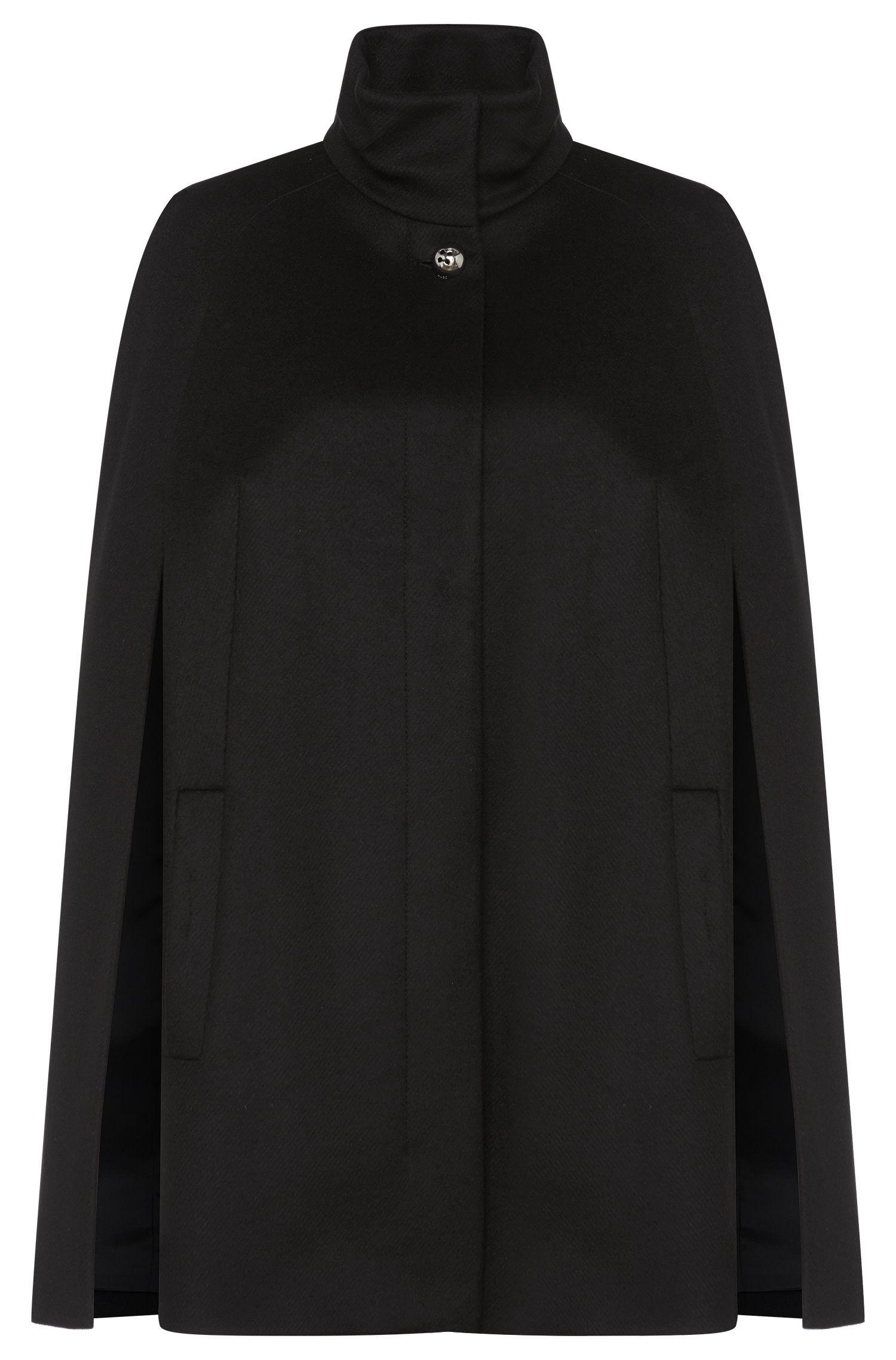 'Maita' | Virgin Wool Cashmere Twill Cape