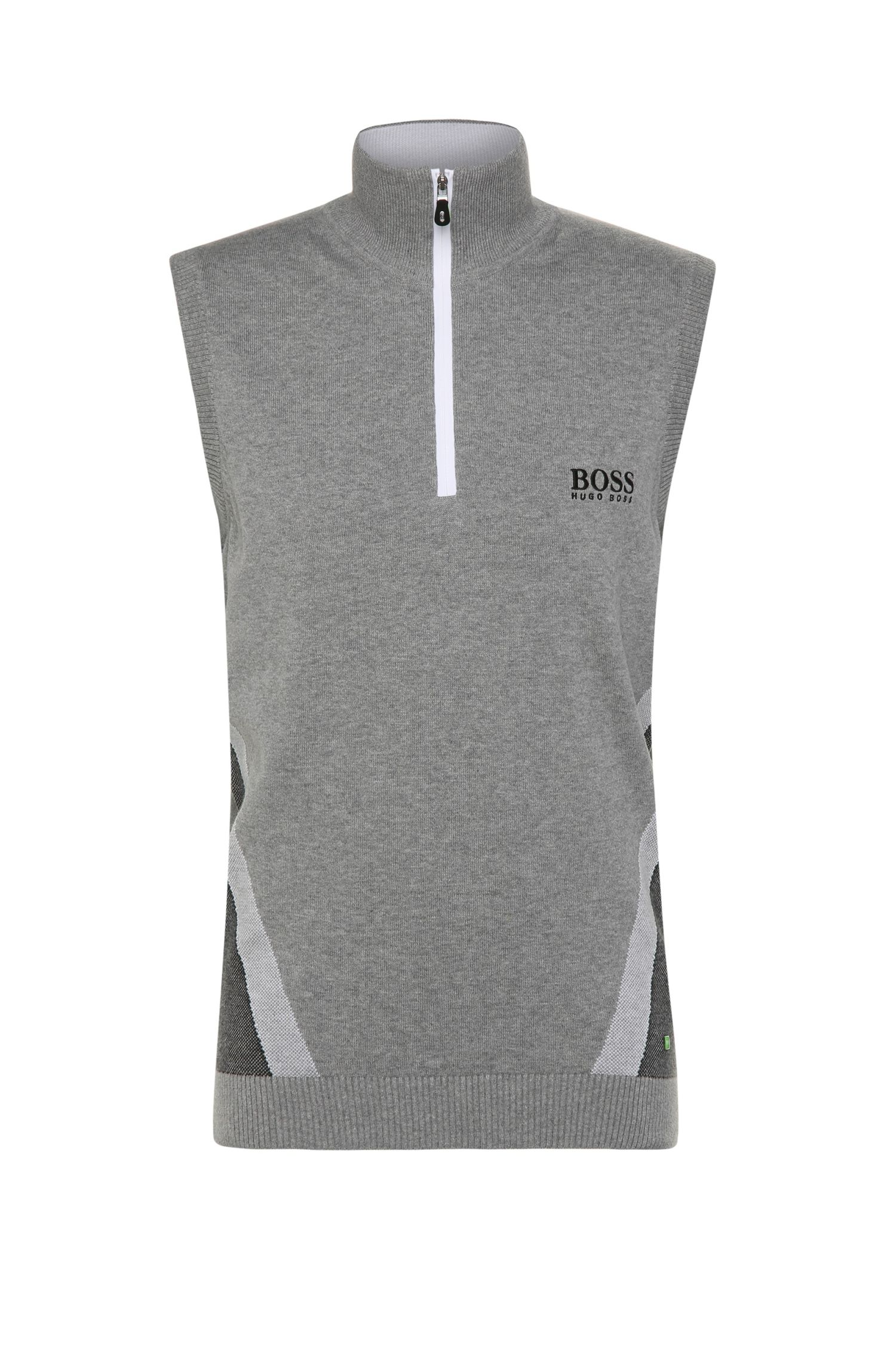 'Zagi Pro W16' | Stretch Cotton Blend Sweater Vest