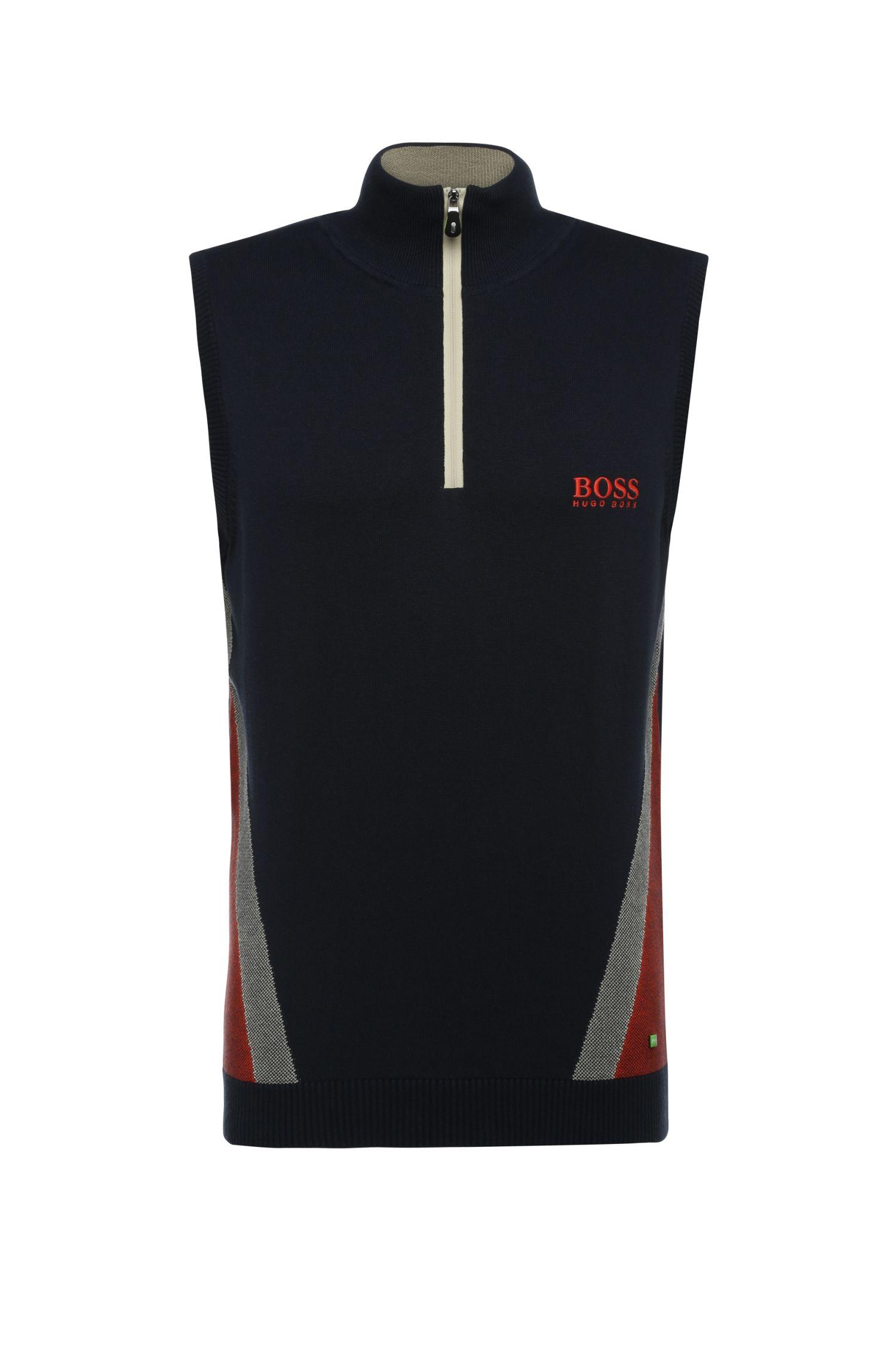 'Zagi Pro W16'   Stretch Cotton Blend Sweater Vest