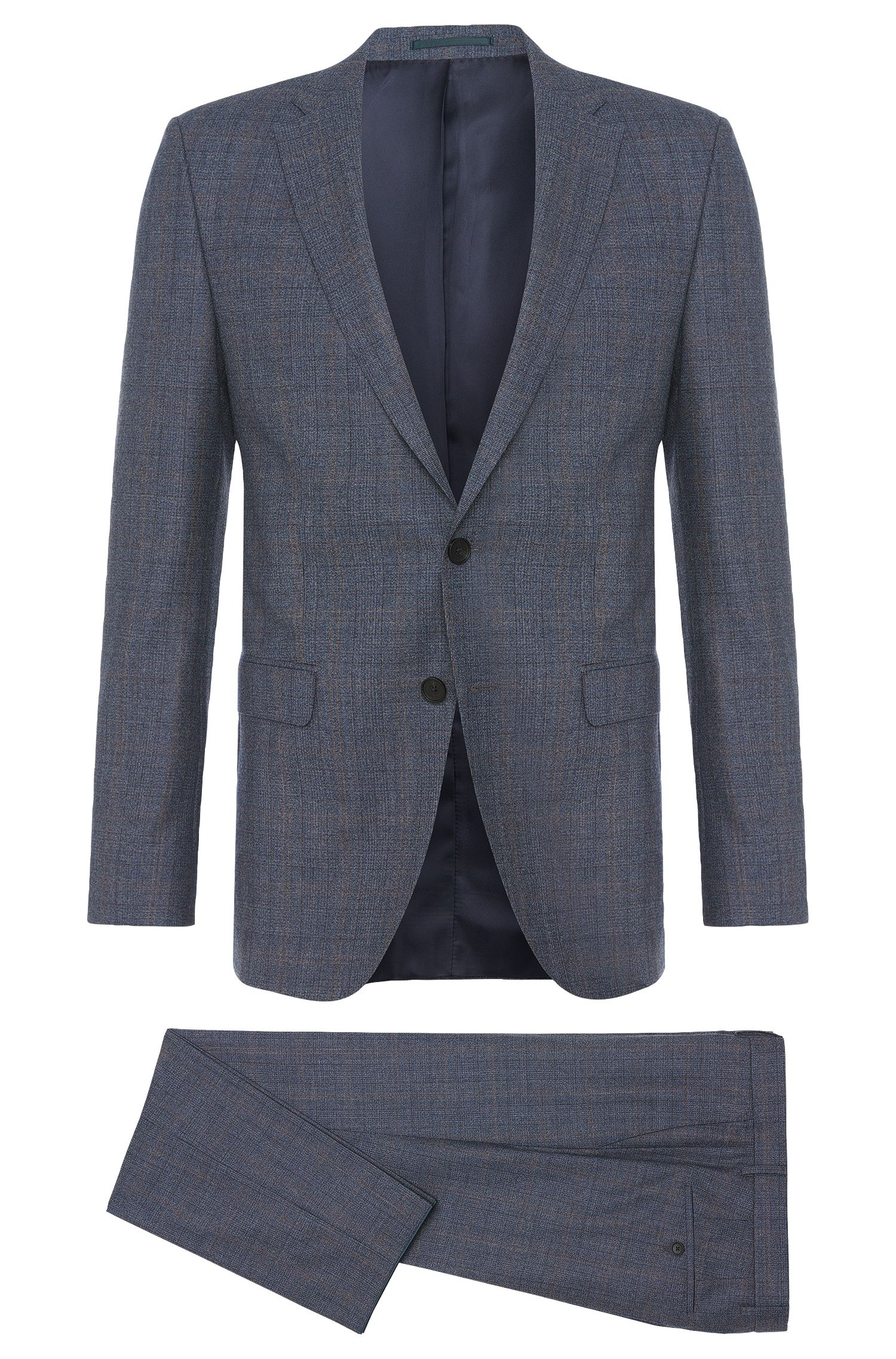 'Novan/Ben' | Slim Fit, Italian Virgin Wool Suit