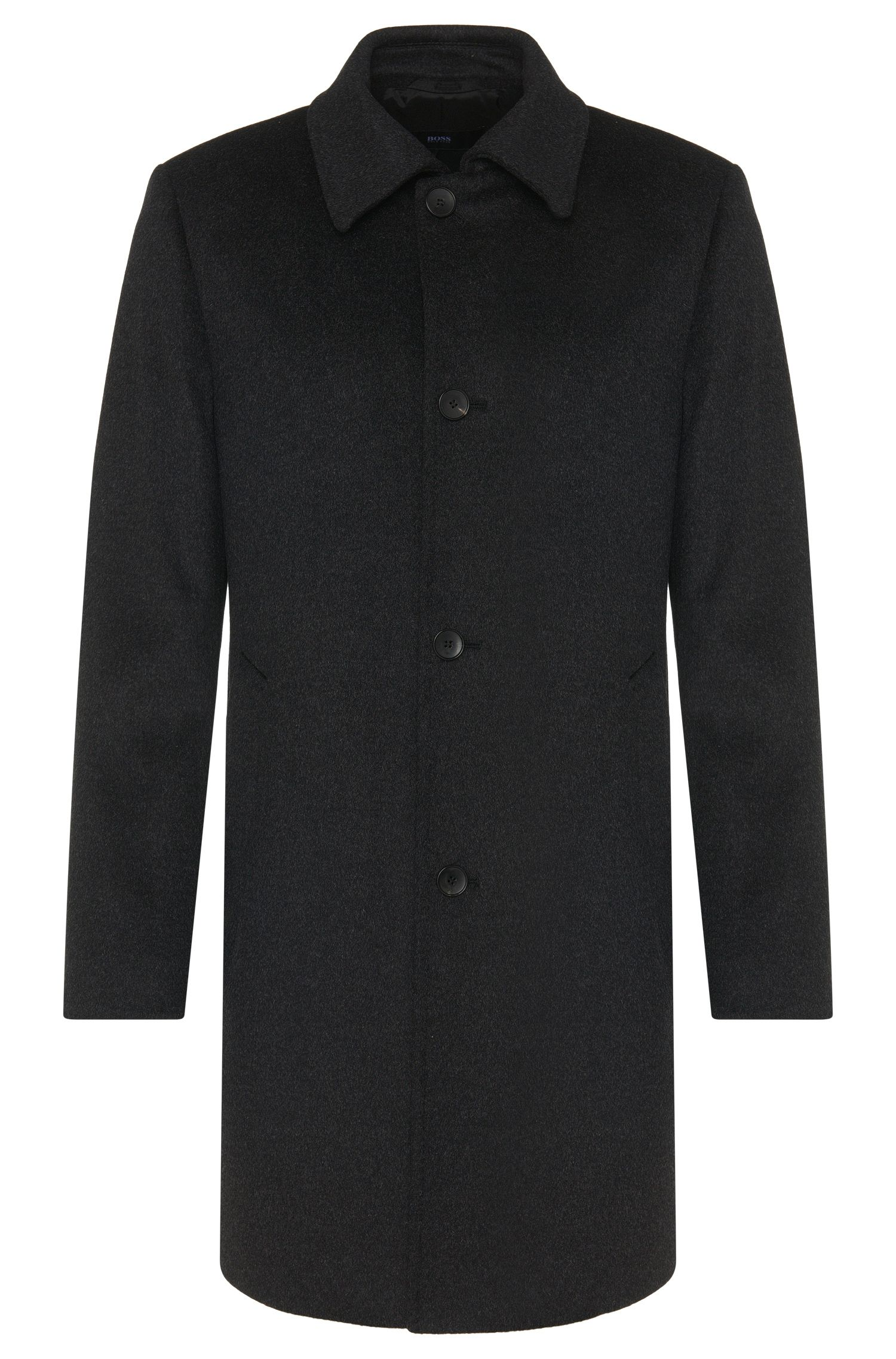 'Task' | Virgin Wool Cashmere Car Coat