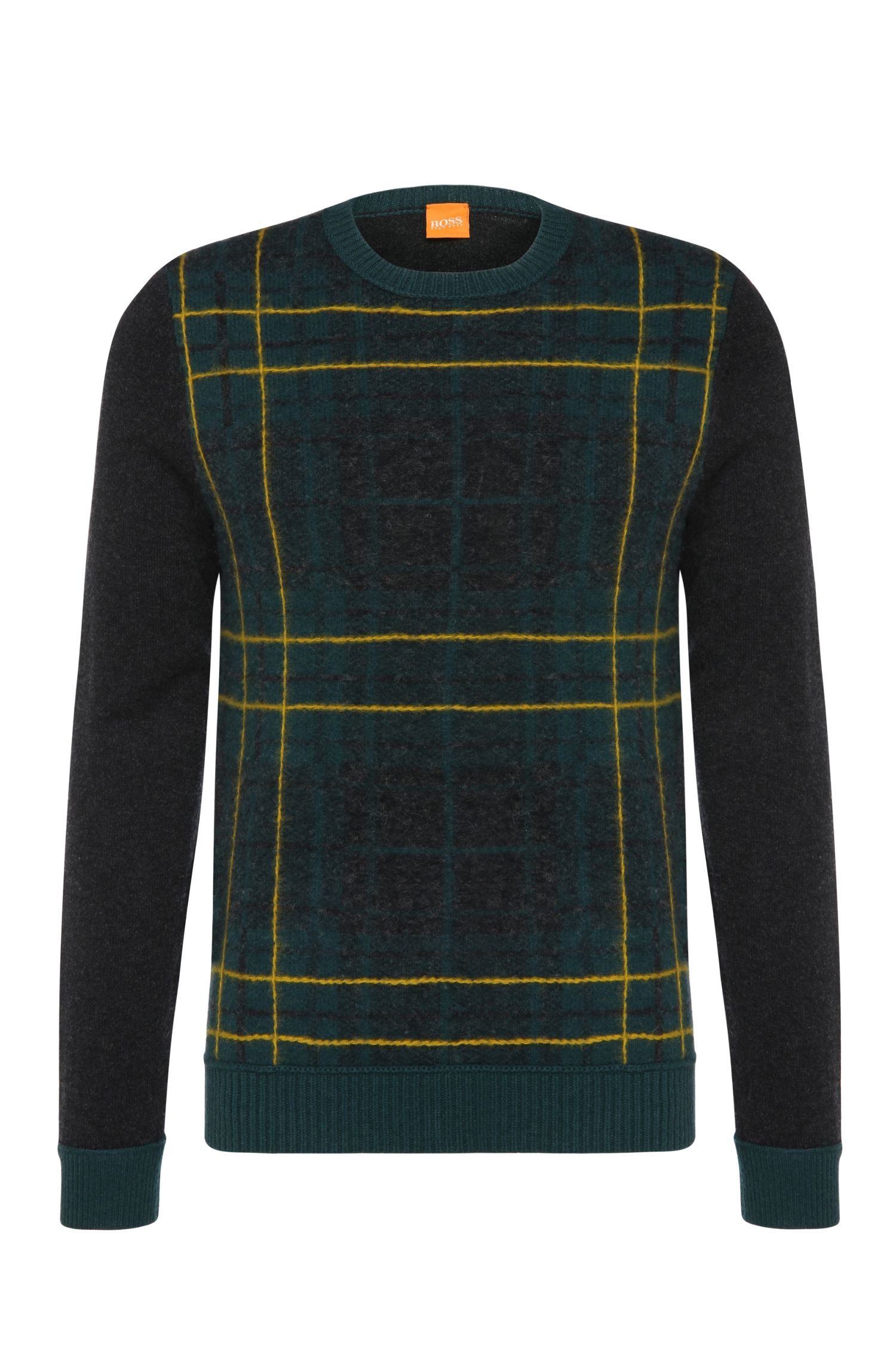 'Abrush' | Virgin Wool Tartan Sweater