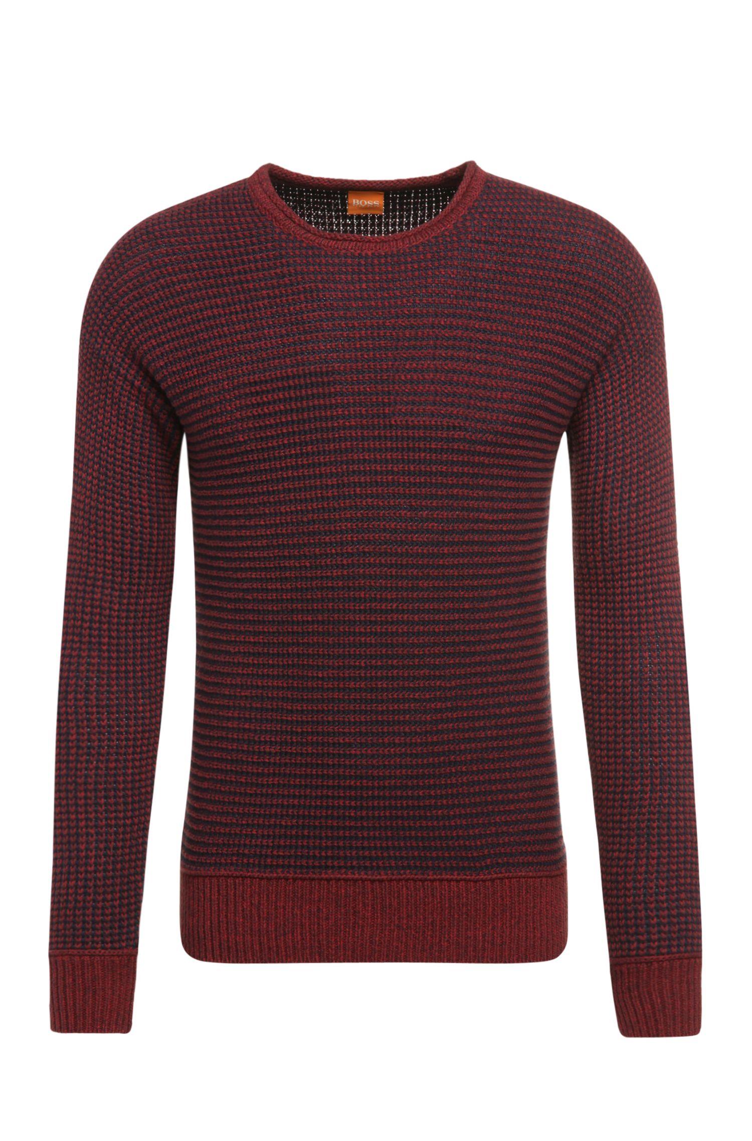 'Arkuso' | Cotton Striped Sweater