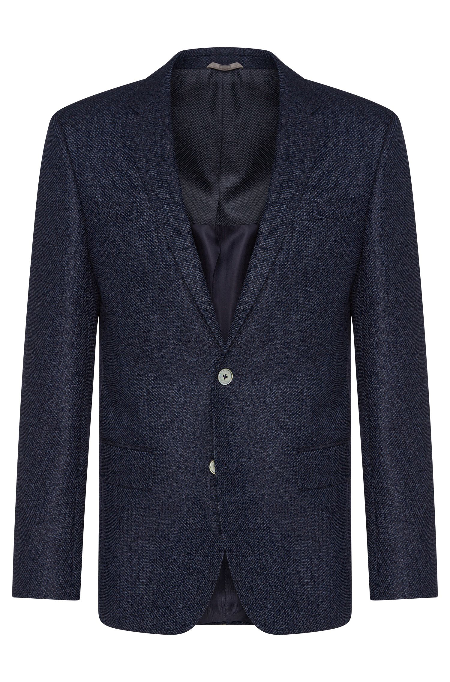 'Hutsons' | Slim Fit, Super 100 Virgin Wool Sport Coat
