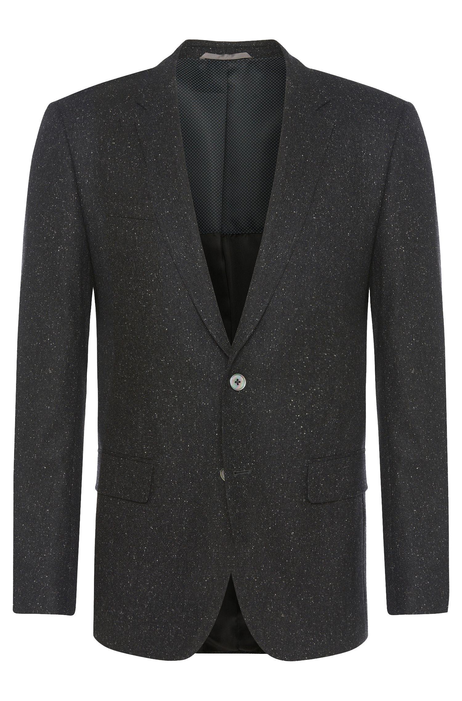 'Hutsons' | Slim Fit, Stretch Virgin Wool Silk Blend Sport Coat