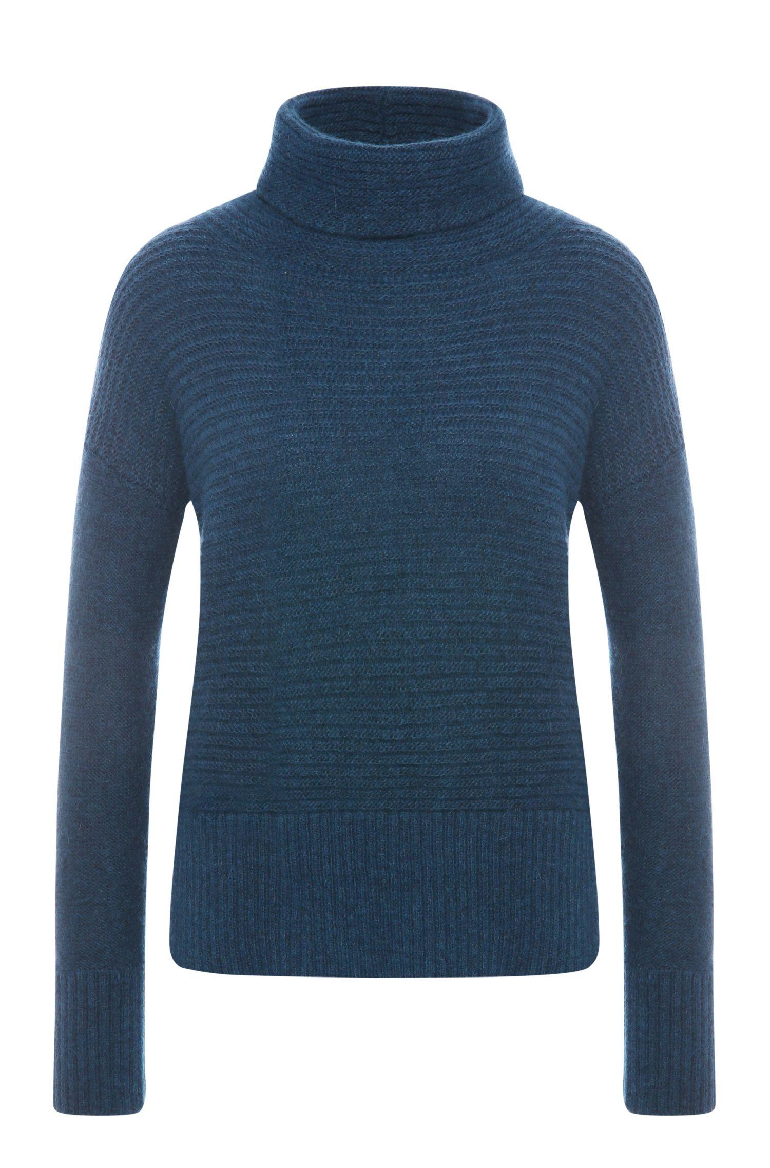 'Wilke'   Italian Alpaca Wool Blend Funnel Neck Sweater