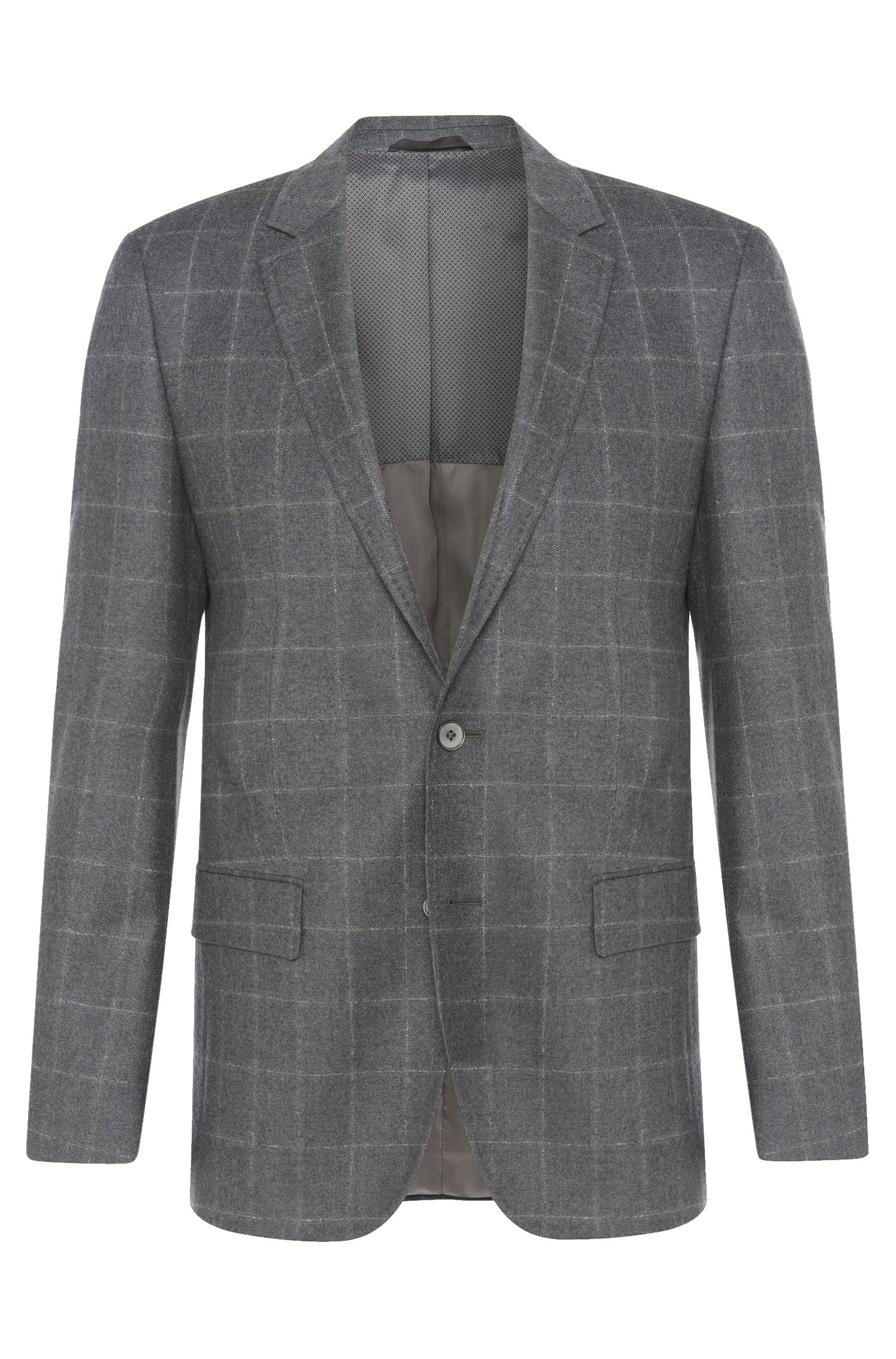 'Hutsons' | Slim Fit, Italian Virgin Wool Sport Coat
