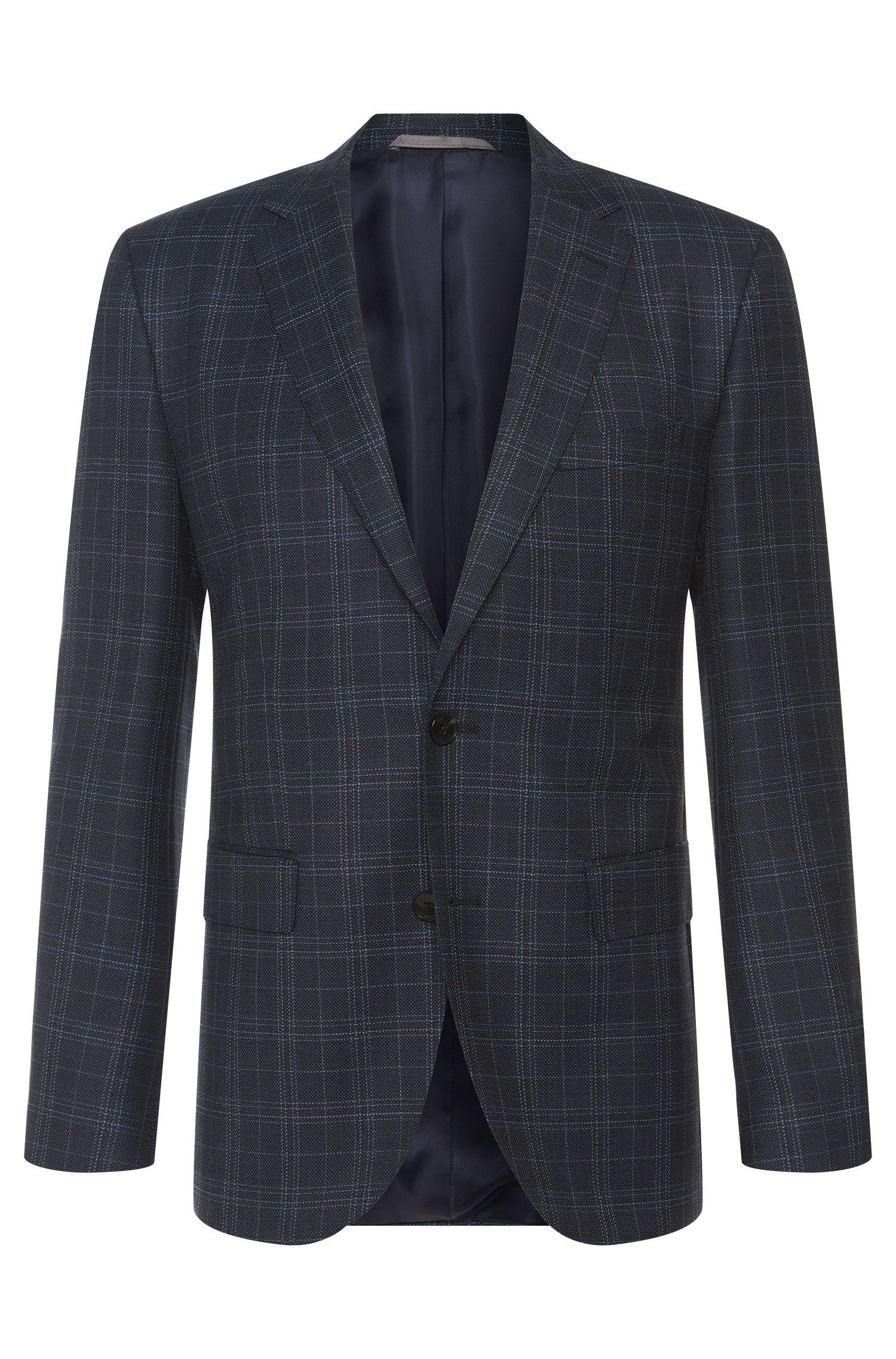 'Jeen' | Regular Fit, Super 110 Italian Virgin Wool Sport Coat