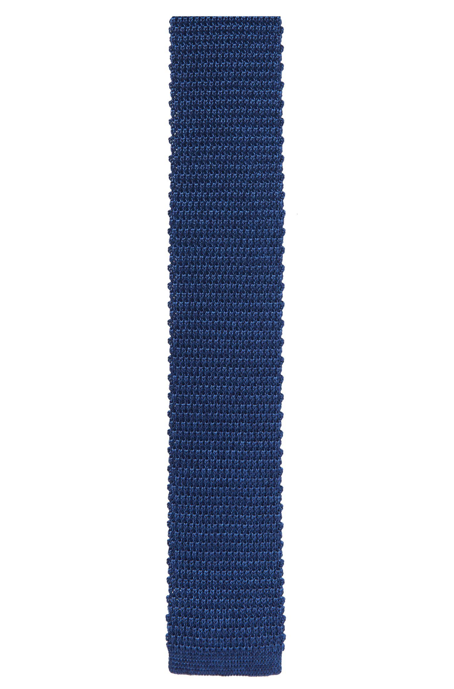 'Tie 5 cm' | Skinny, Italian Silk Pique Knit Tie