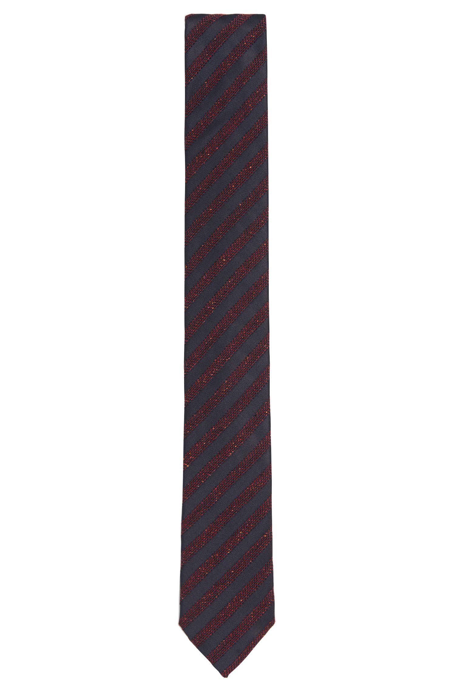 'Tie 6 cm' | Slim, Italian Silk Wool Blend Woven Tie