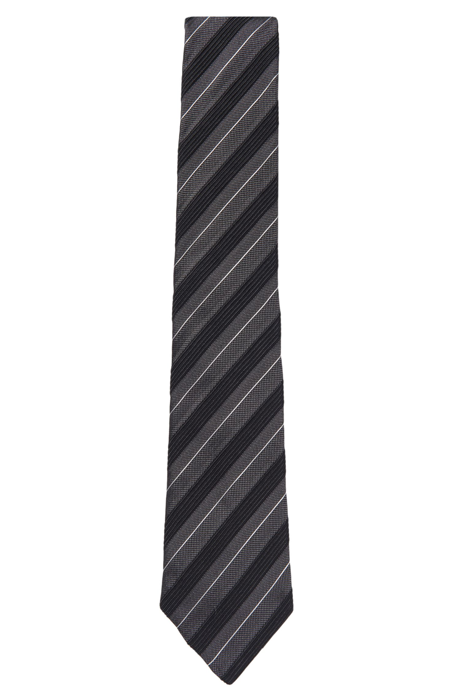 'Tie 7.5 cm' | Regular, Silk Cotton Blend Tie