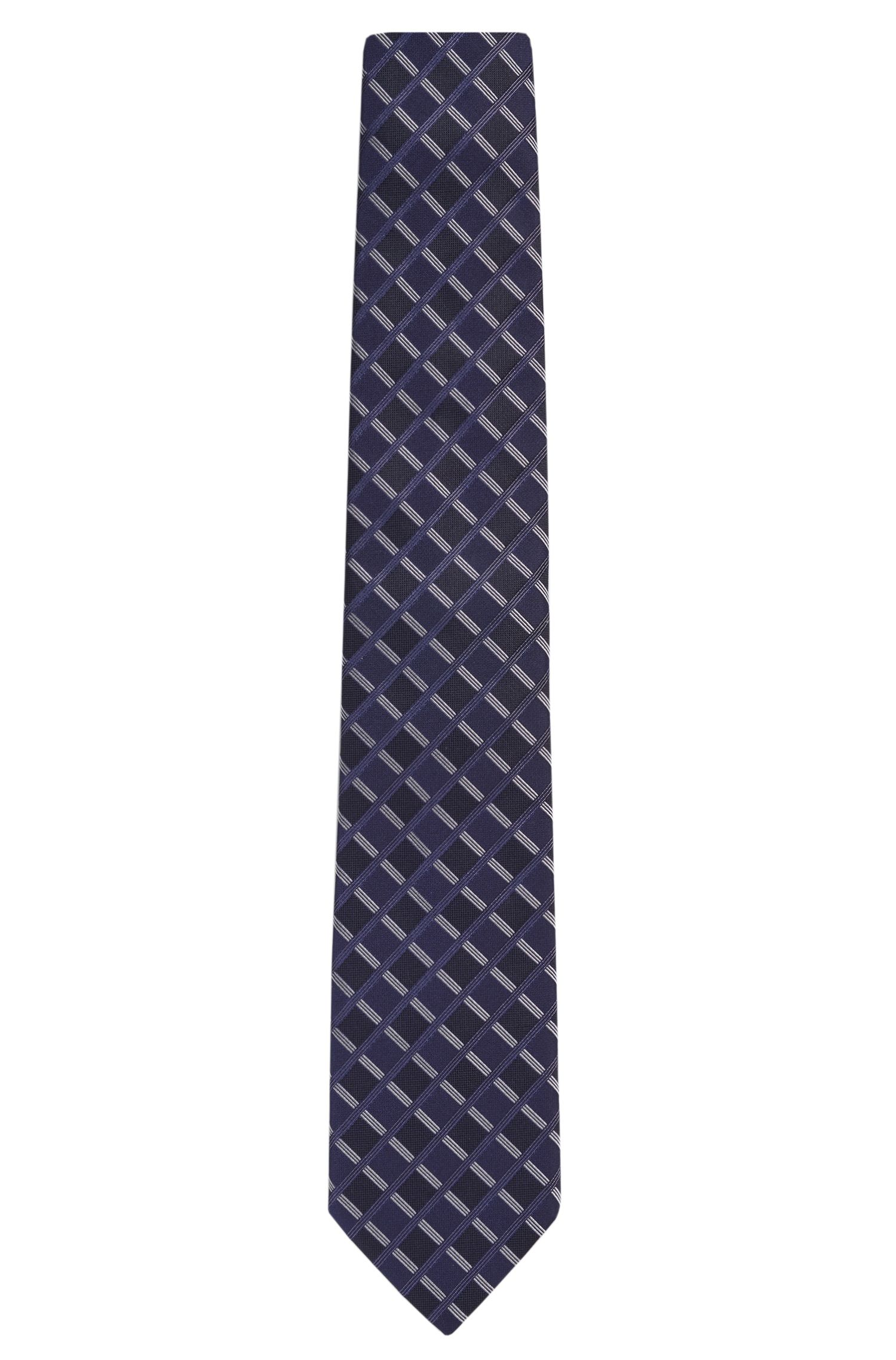 'Tie 7.5 cm' | Regular, Italian Silk Patterned Tie