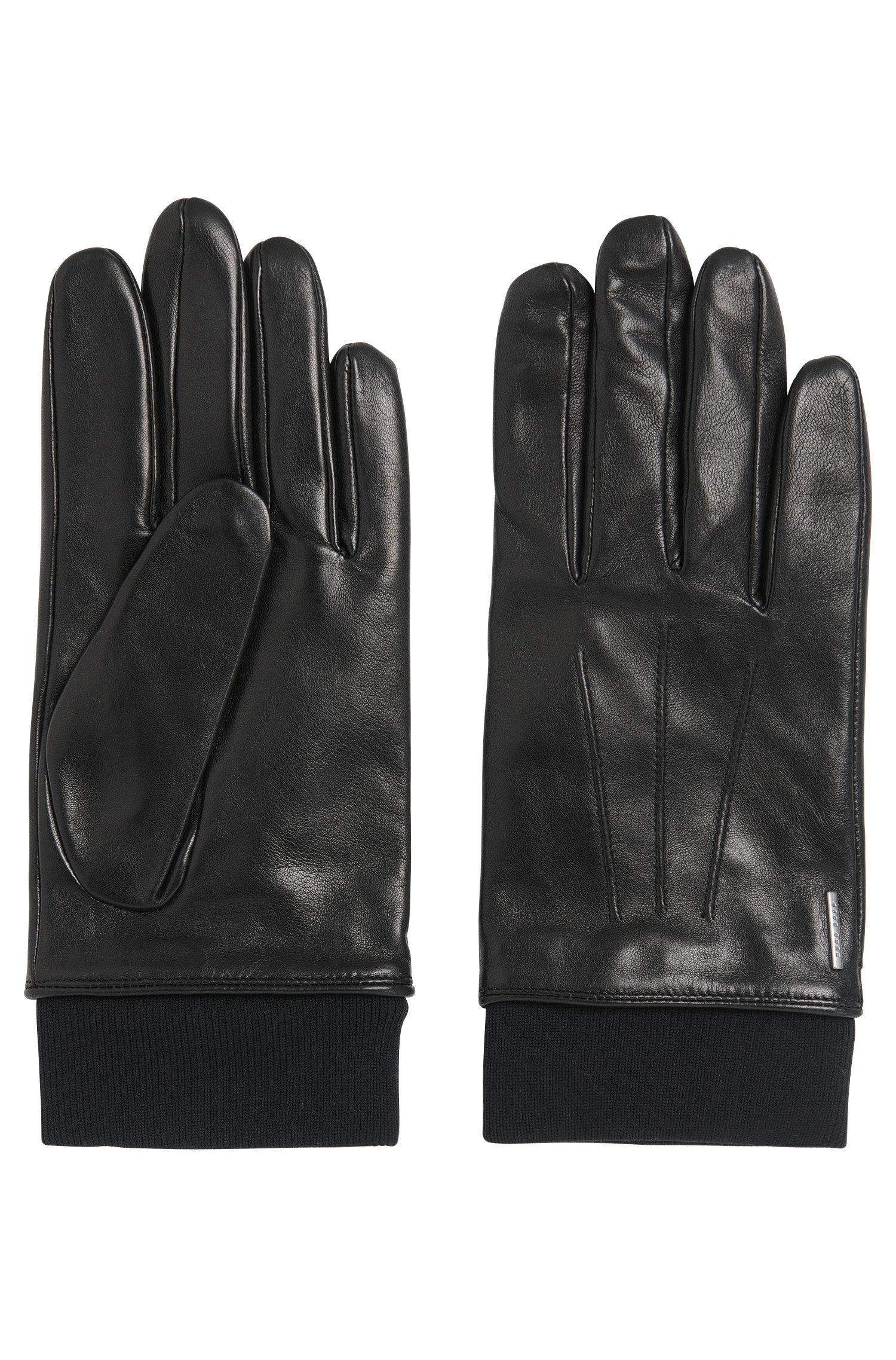 'Herbo' | Lambskin Leather Gloves