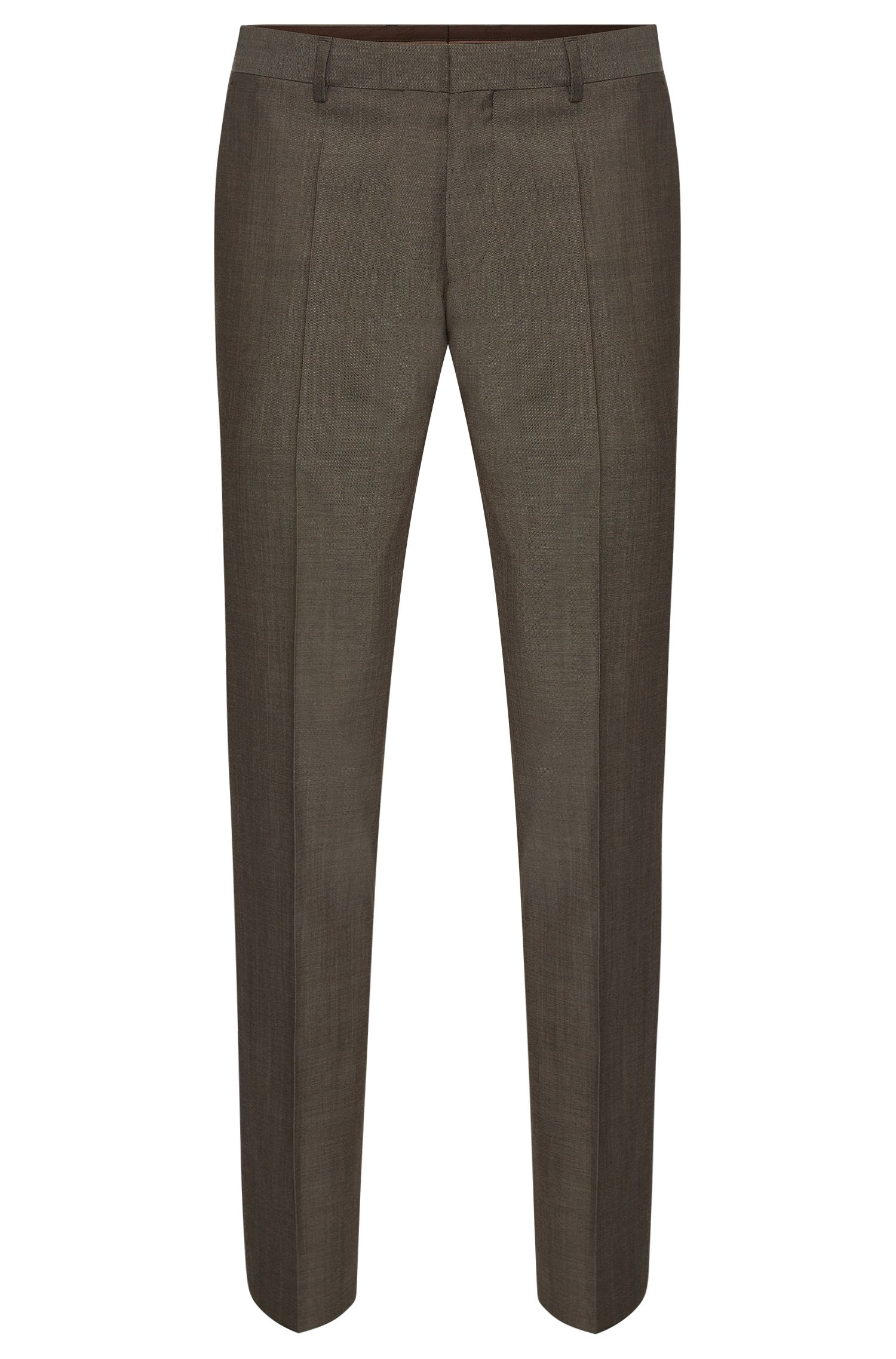 'Genesis' | Slim Fit, Italian Super 100 Virgin Wool Dress Pants