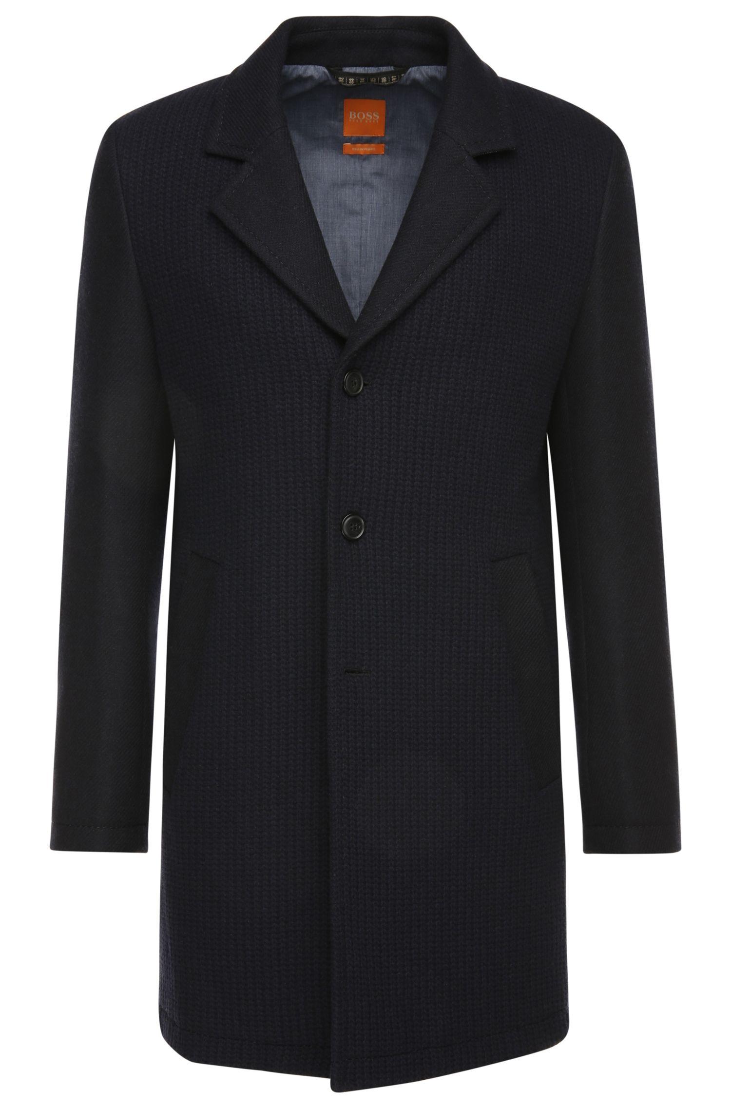 'Balley'   Wool Blend Knit Body Car Coat
