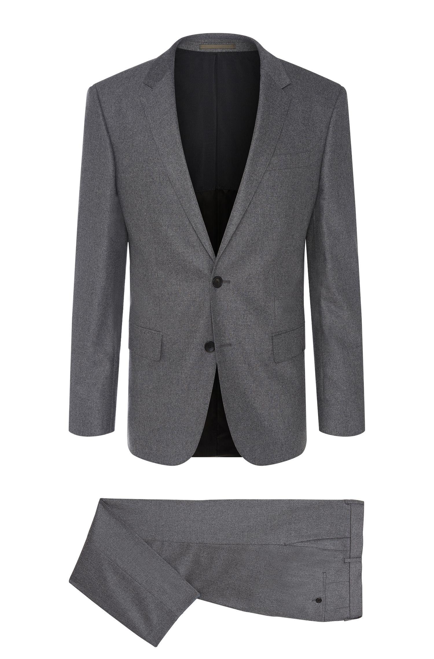 'Huge/Genius' | Slim Fit,  Italian Stretch Virgin Wool Cashmere Suit