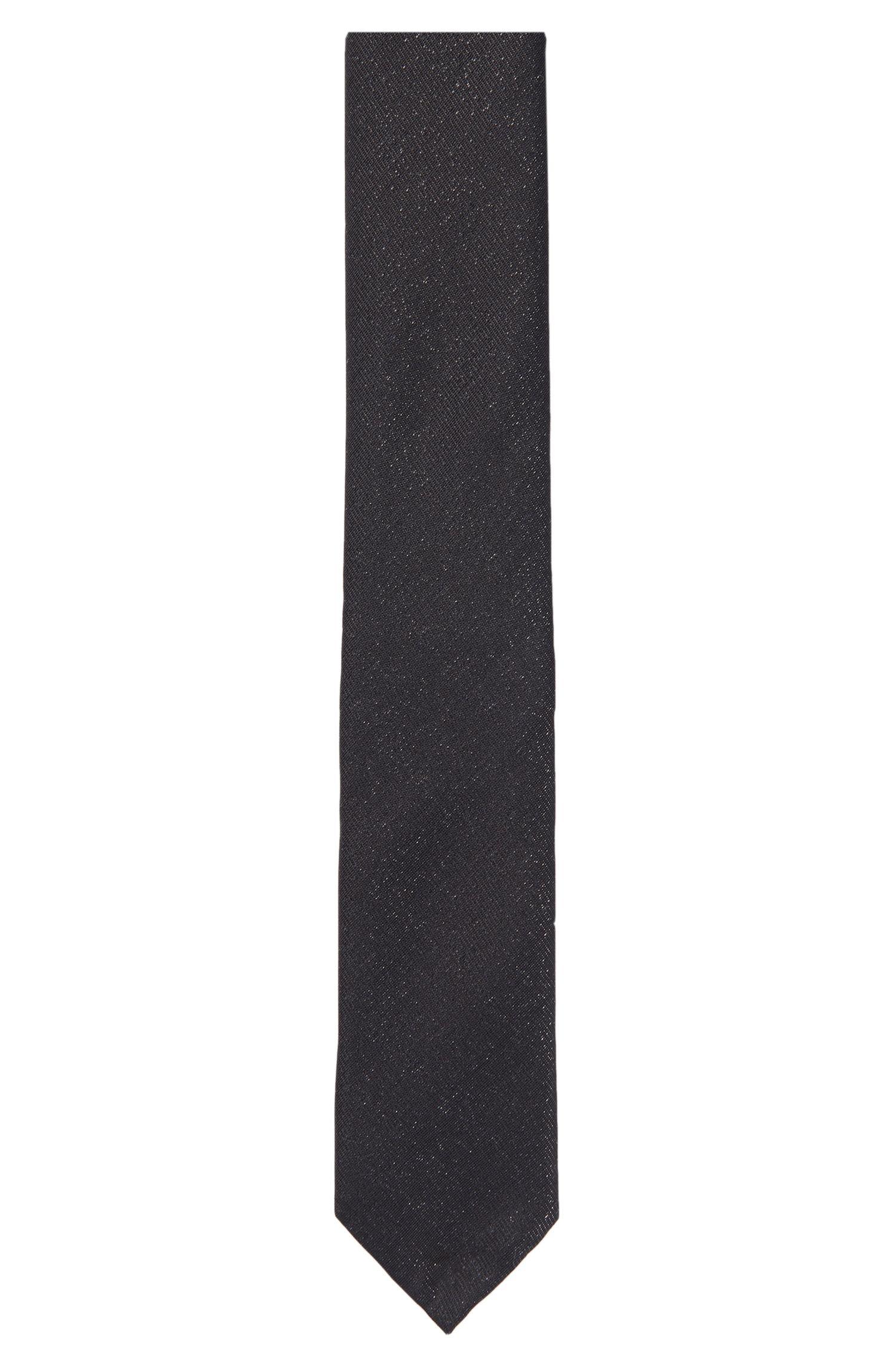 'Tie 6 cm' | Slim, Italian Silk Wool Blend Tie