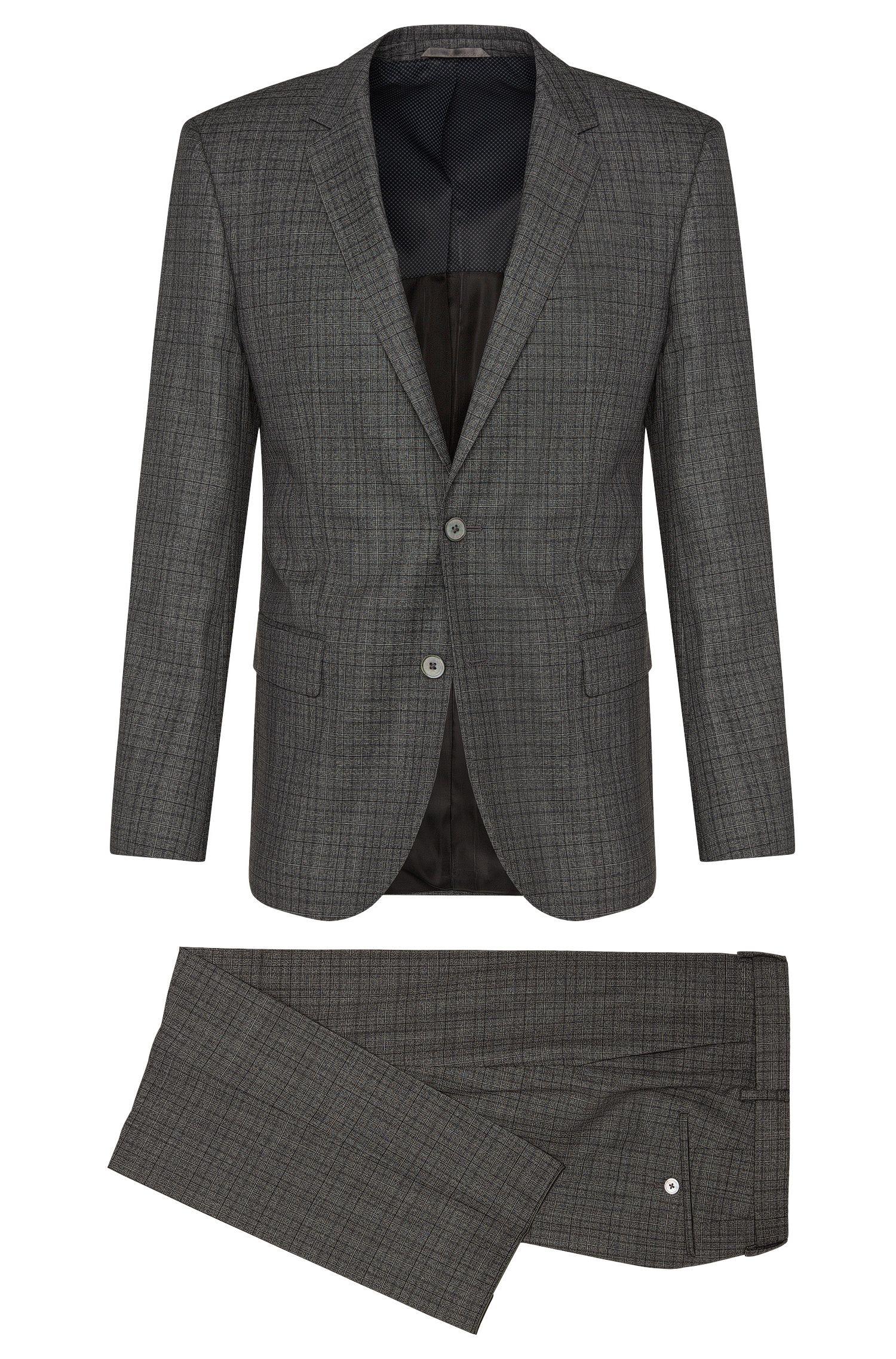 'Hutson/Gander' | Slim Fit, Super 120 Virgin Wool Suit