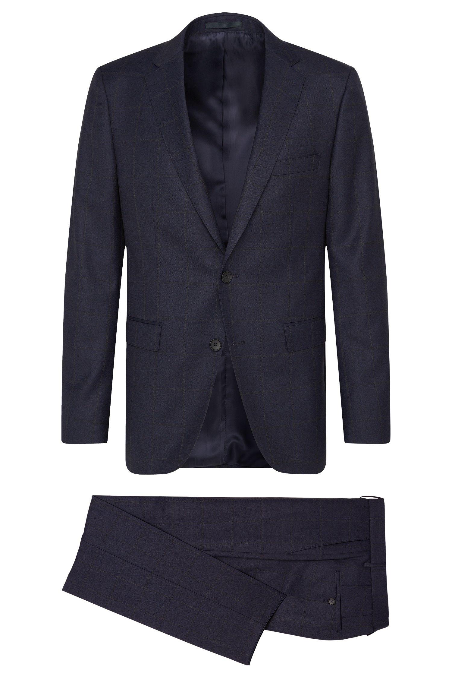 'Novan/Ben' | Slim Fit, Italian Super 120 Virgin Wool Suit