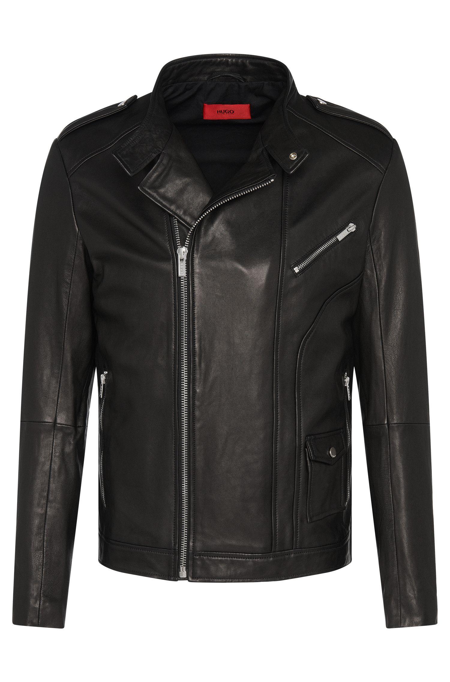 'Lonn' | Lambskin Moto Jacket