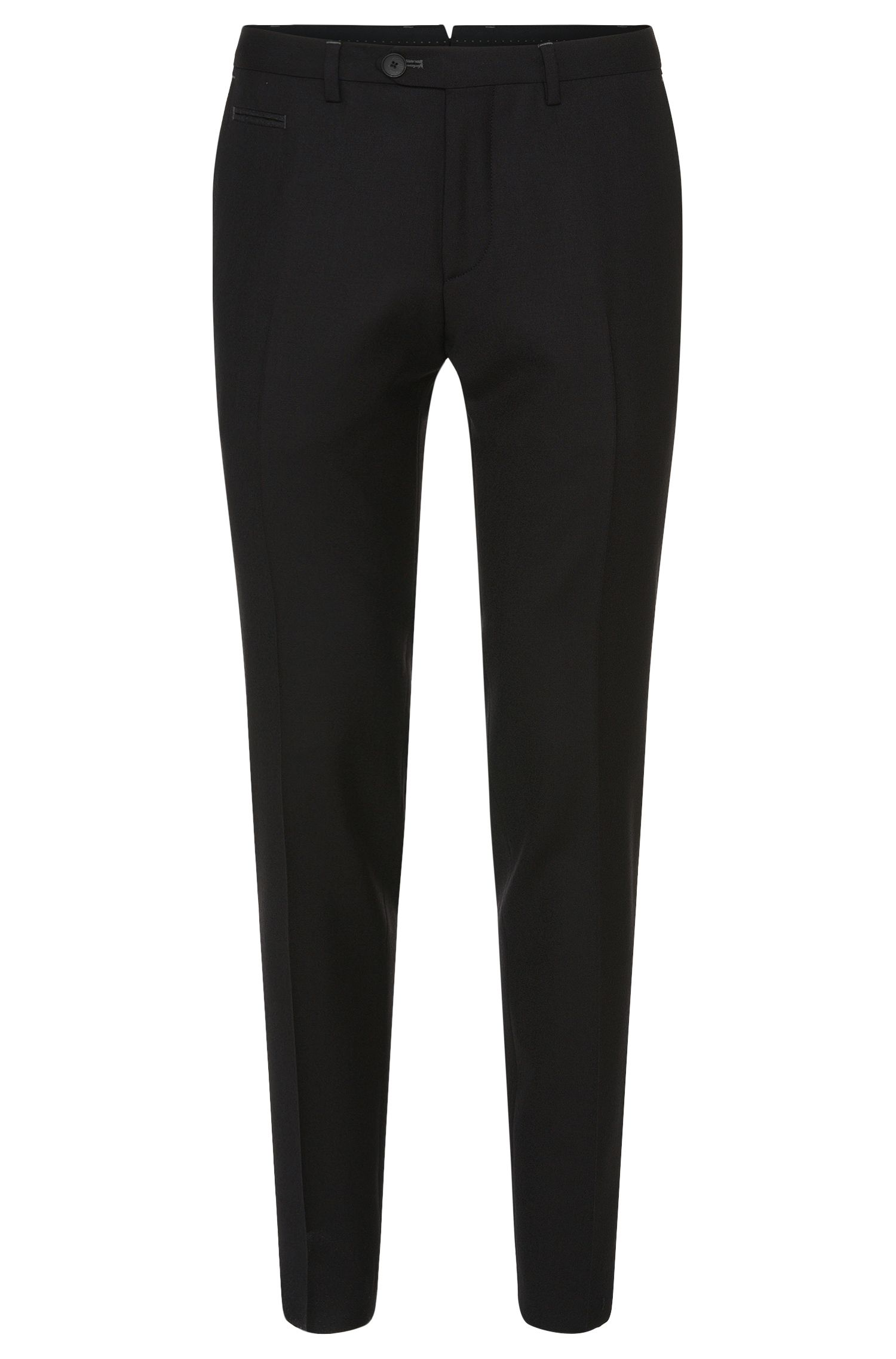 'Wilhelm' | Extra Slim Fit, Virgin Wool Dress Pants