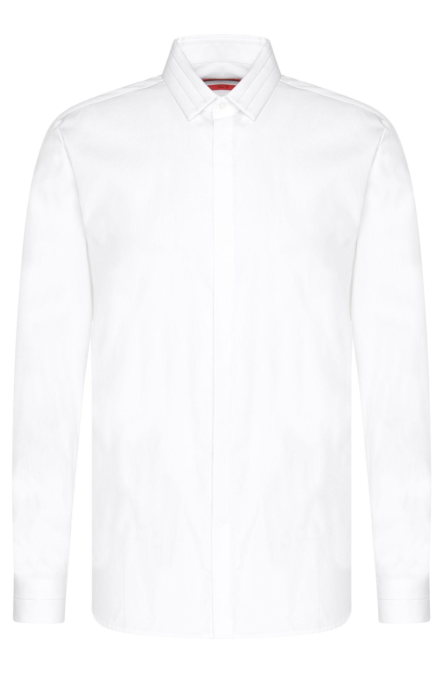'Esid' | Slim Fit, Cotton Button Down Shirt