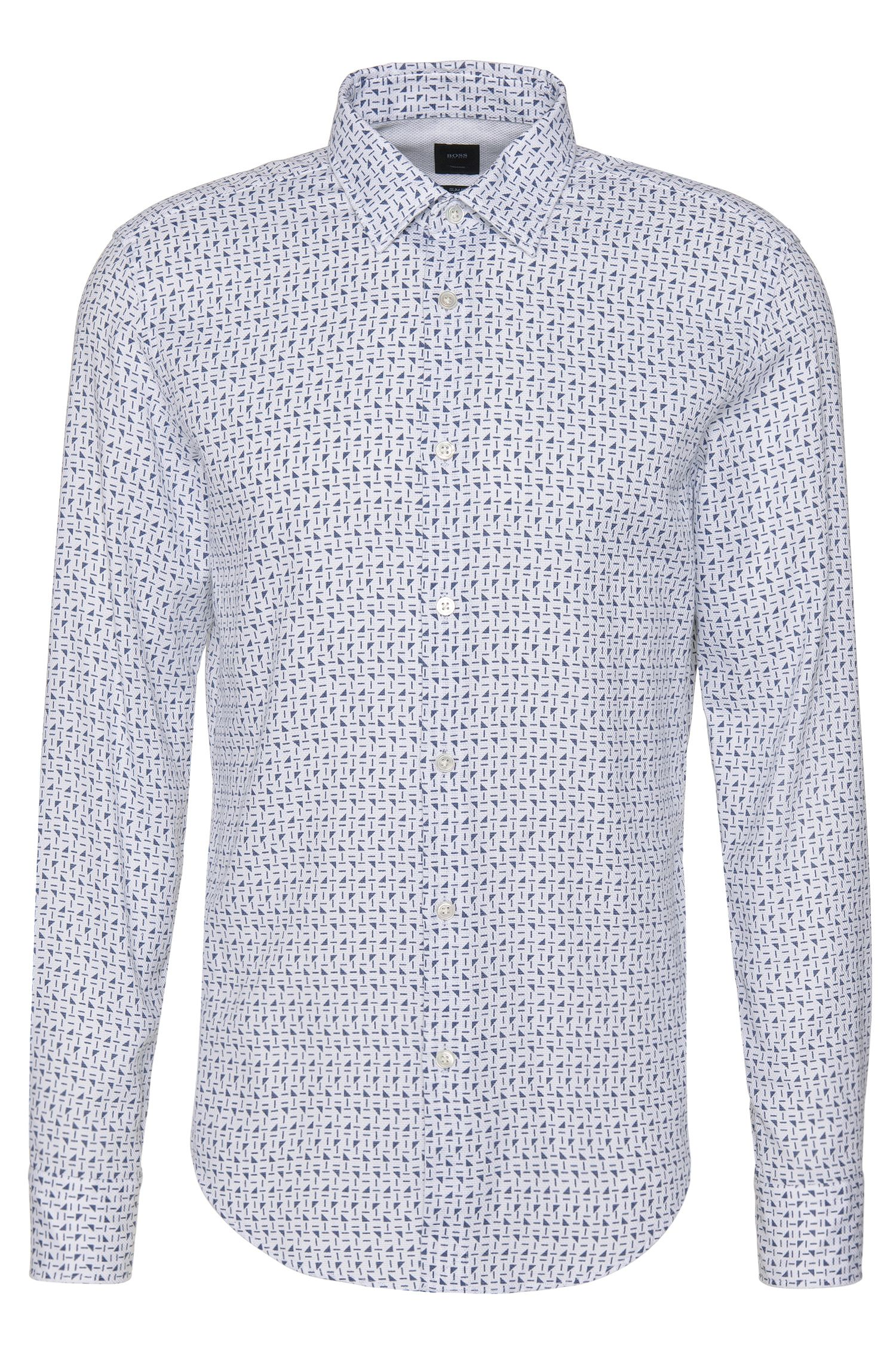 'T-Riccardo F' | Slim Fit, Italian Cotton Button Down Shirt