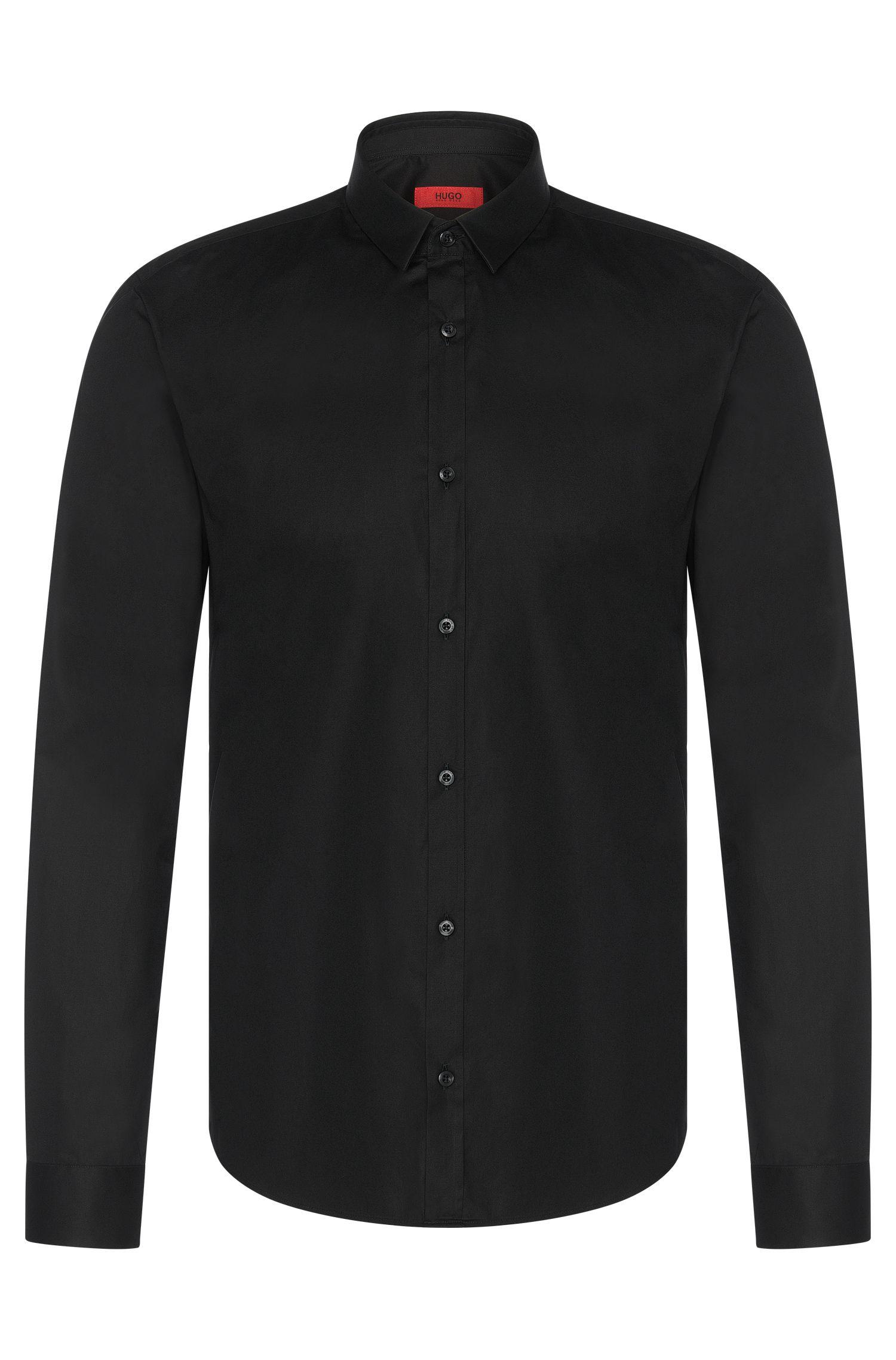 'Ero' | Slim Fit, Stretch Cotton Button Down Shirt