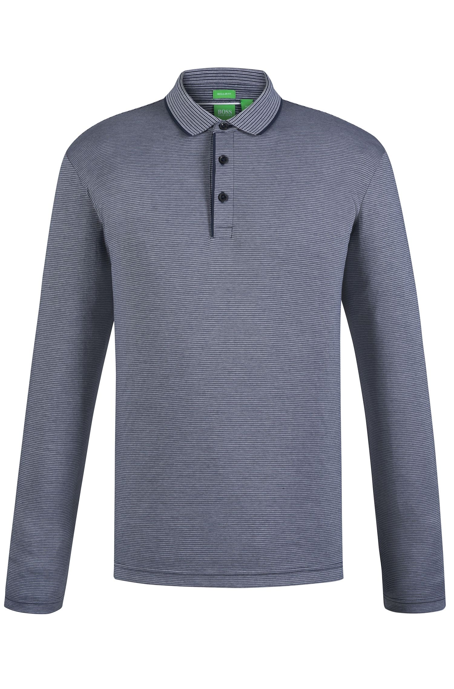 'C-Prato' | Regular Fit, Cotton Polo Shirt
