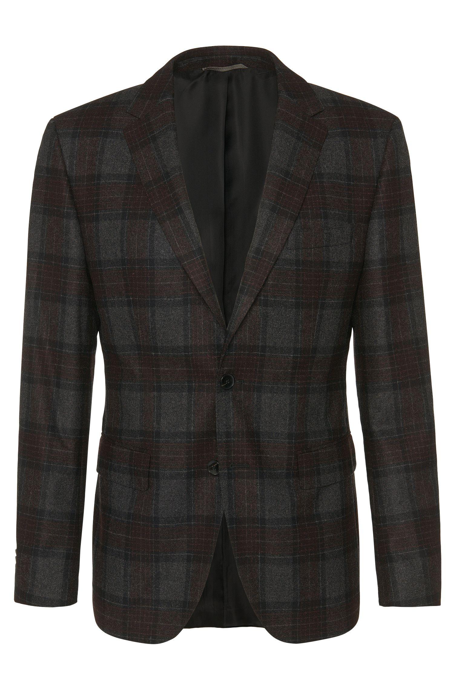 'Jeen' | Regular Fit, Italian Virgin Wool Cashmere Silk Blend Sport Coat
