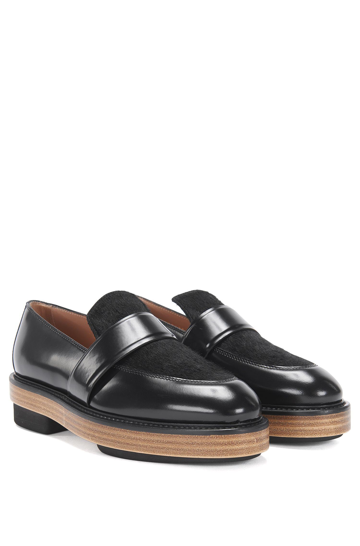 'Loafer Platform' | Italian Calfskin Platform Loafers