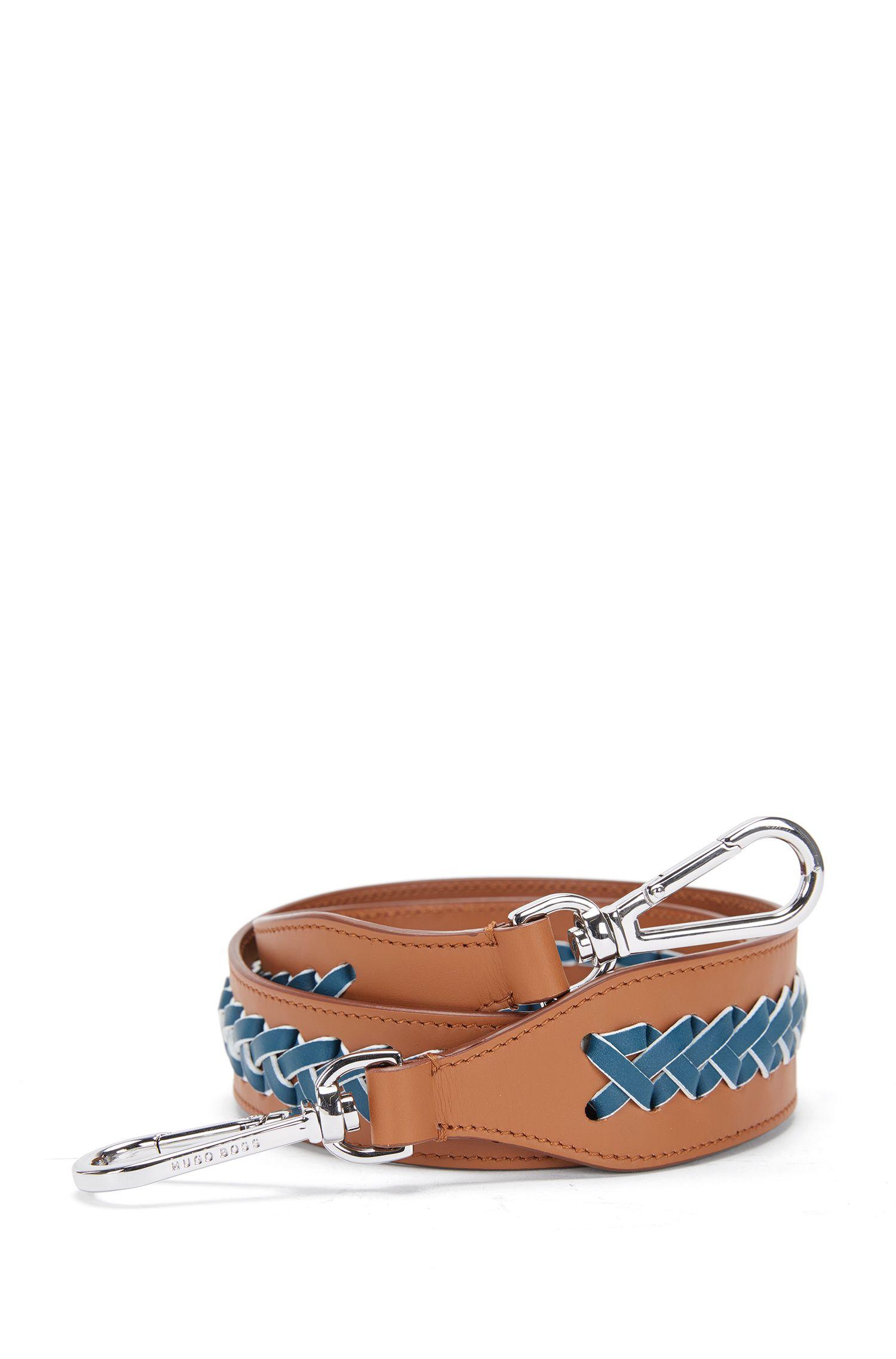 'Braid S Strap' | Calfskin Interchangeable Braided Handbag Strap