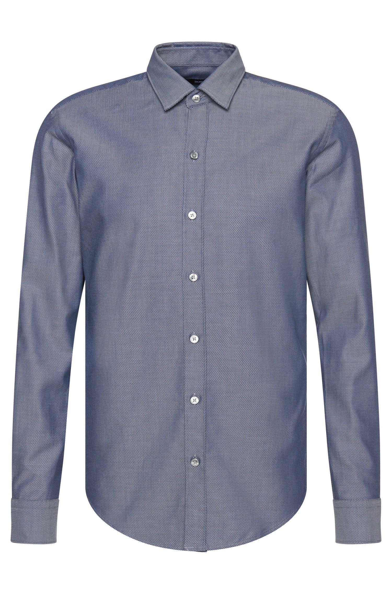 'Robbie' | Slim Fit, Cotton Button Down Shirt