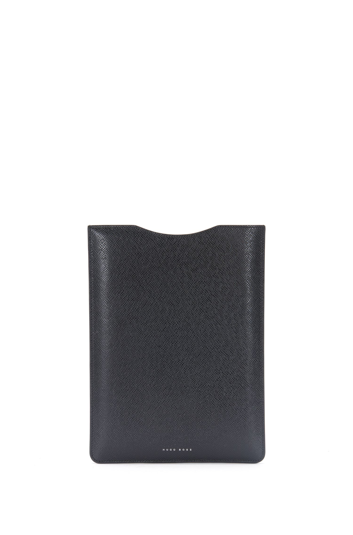 'Signature Tablet' | Leather Embossed Tablet Sleeve