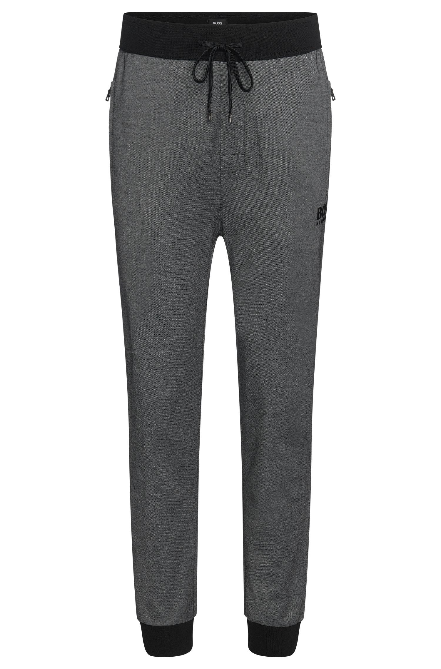 'Long Pant Cuffs' | Cotton Blend Drawstring Lounge Pants