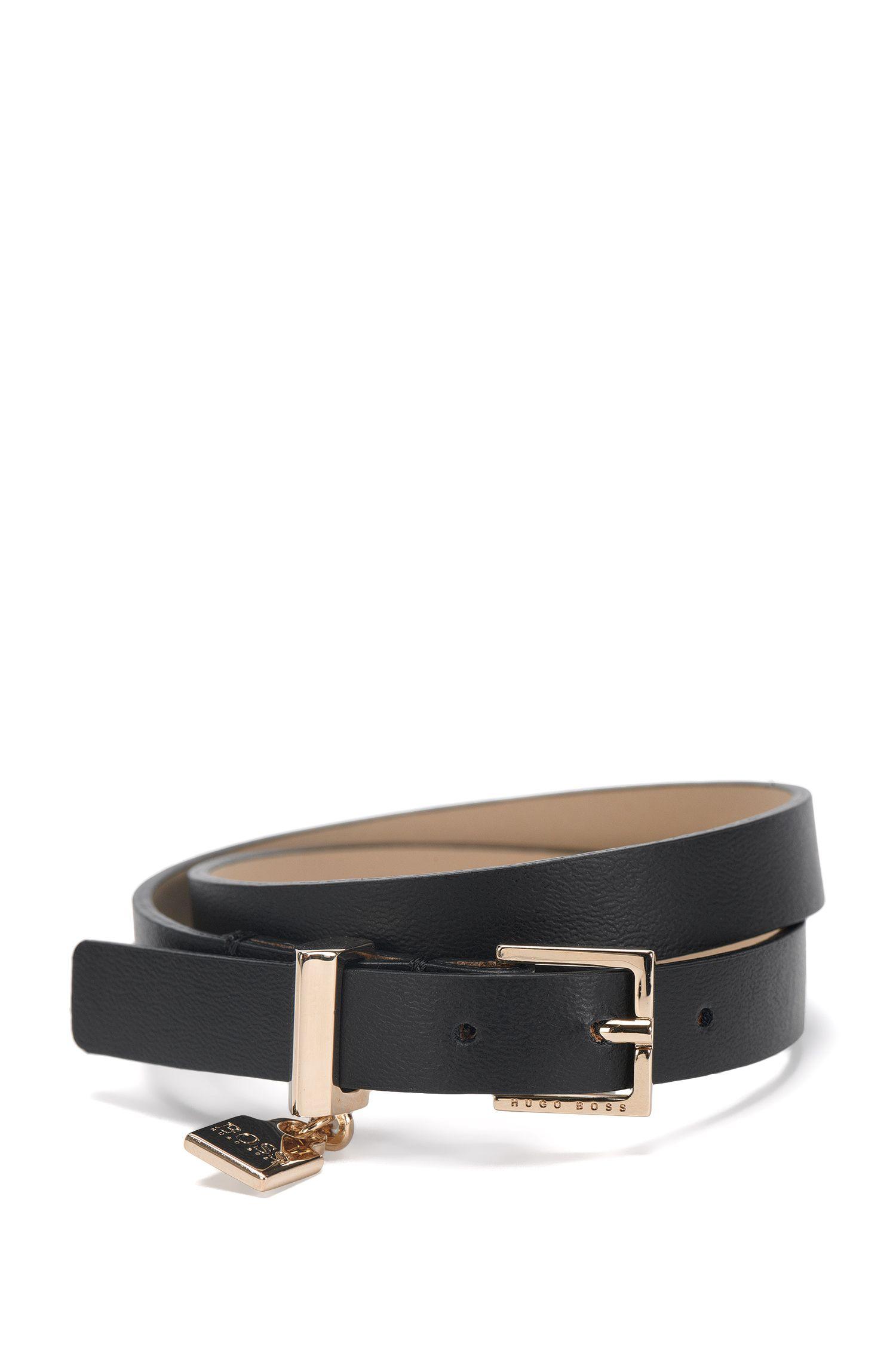 'Berlin Bracelet N' | Italian Leather Wrap Bracelet