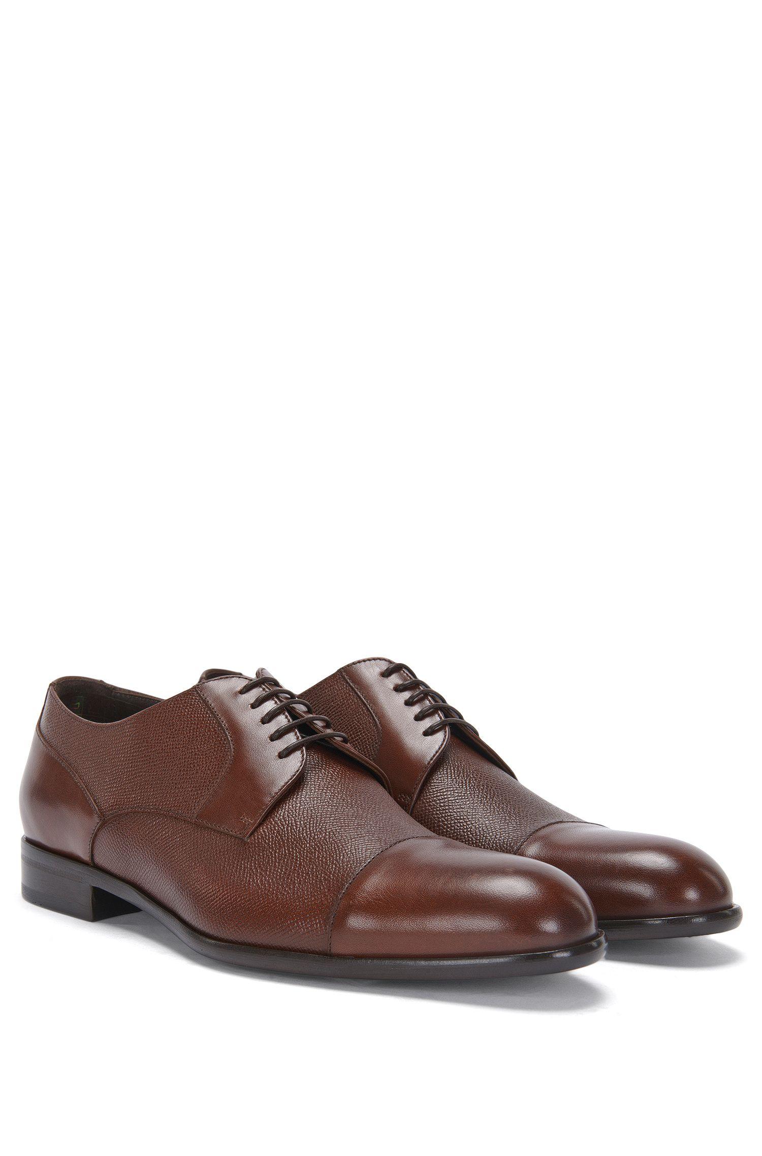 'Manhattan Derb Prct' | Italian Calfskin Derby Dress Shoes