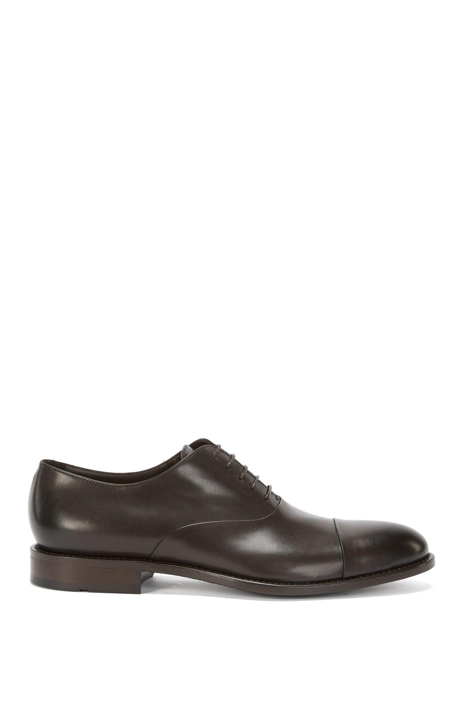 'Stockholm Oxfr Ctst' | Italian Calfskin Cape Toe Oxford Dress Shoes