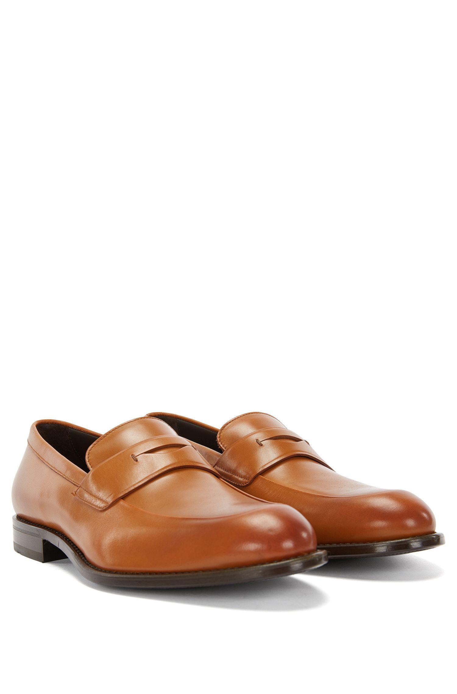 'Stockholm Loaf Apst' | Italian Calfskin Penny Loafer Dress Shoes