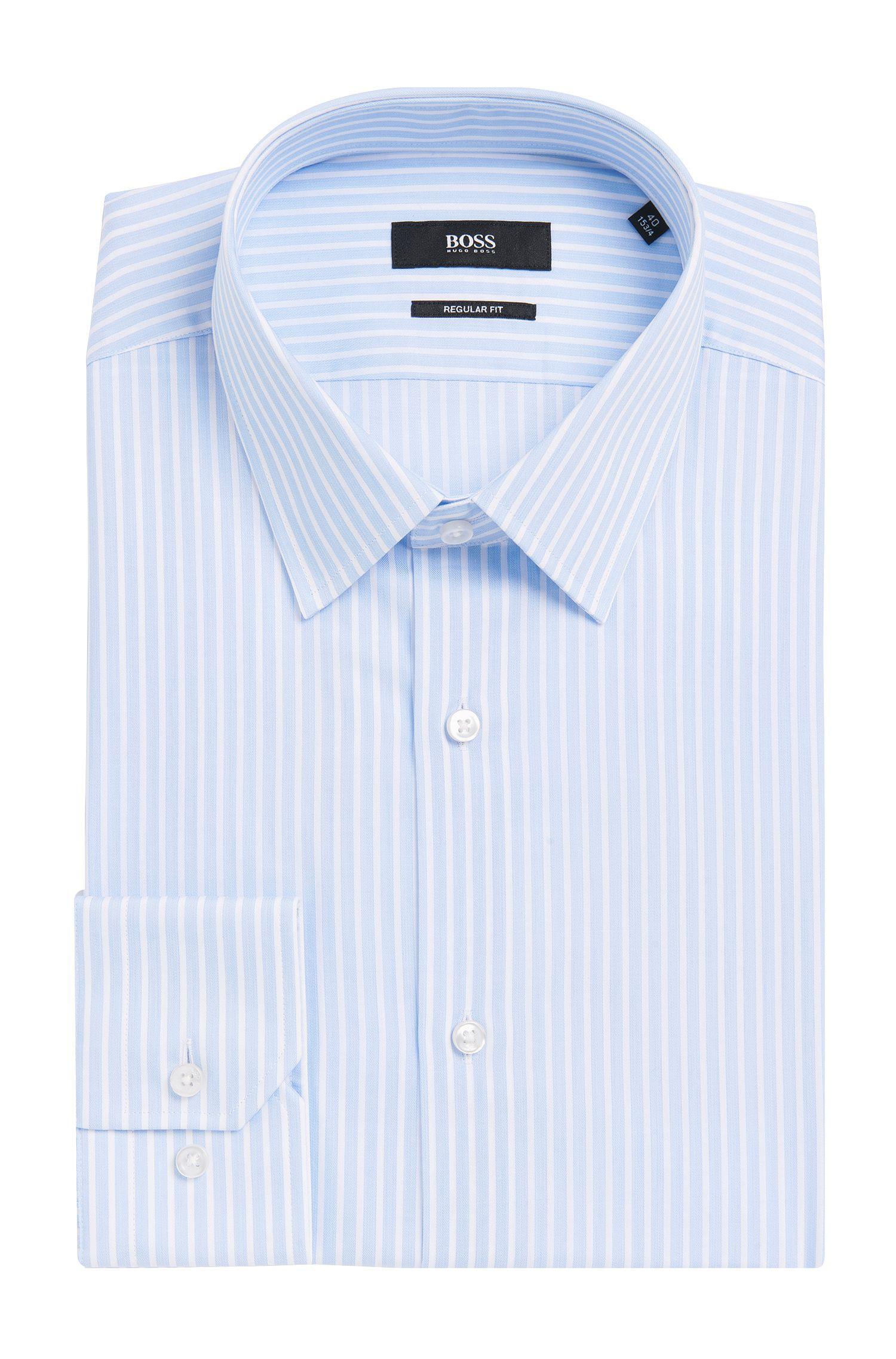 'Enzo'   Regular Fit, Point Collar Cotton Dress Shirt