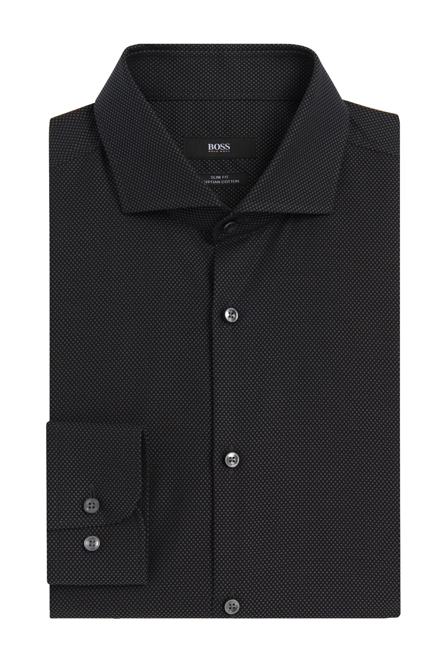 'Jerrin' | Slim Fit, Egyptian Cotton Dress Shirt