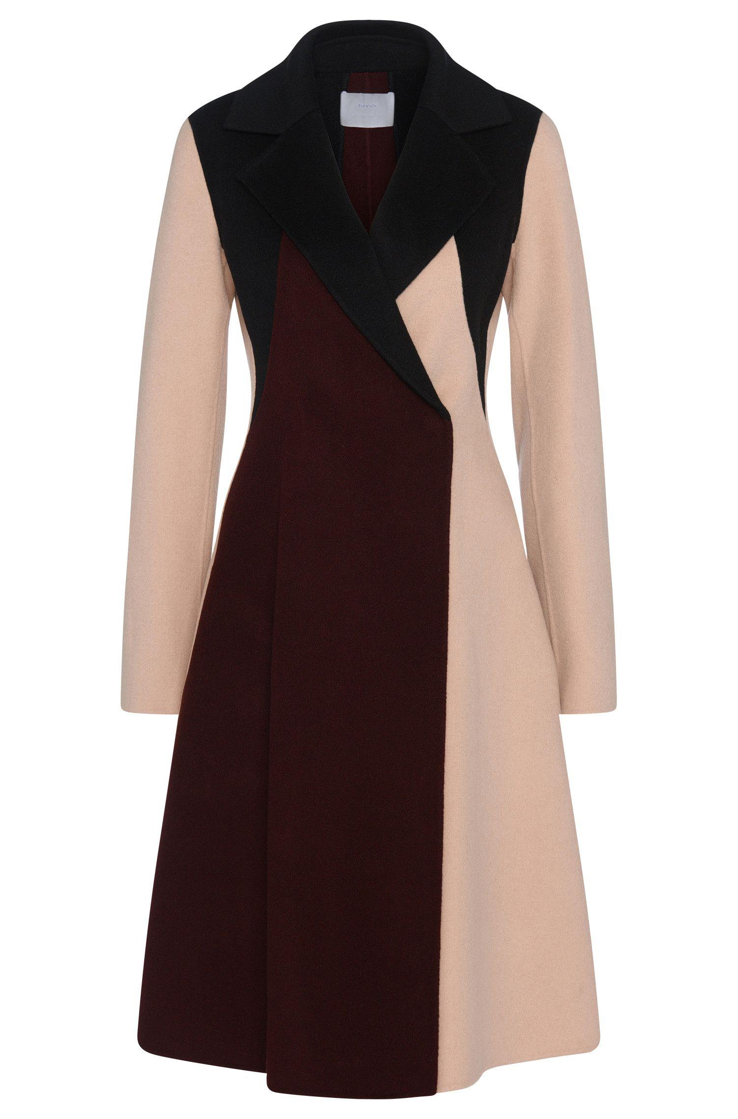 'FS_Cibina' | Wool Cashmere A-Line Coat