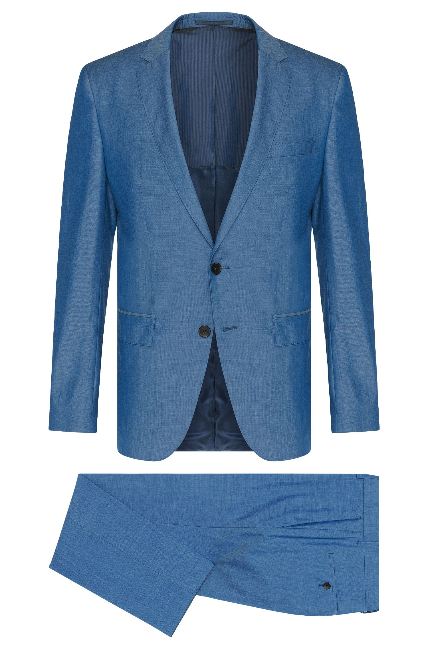 'Huge/Genius' | Slim Fit, Super 130 Italian Virgin Wool Suit