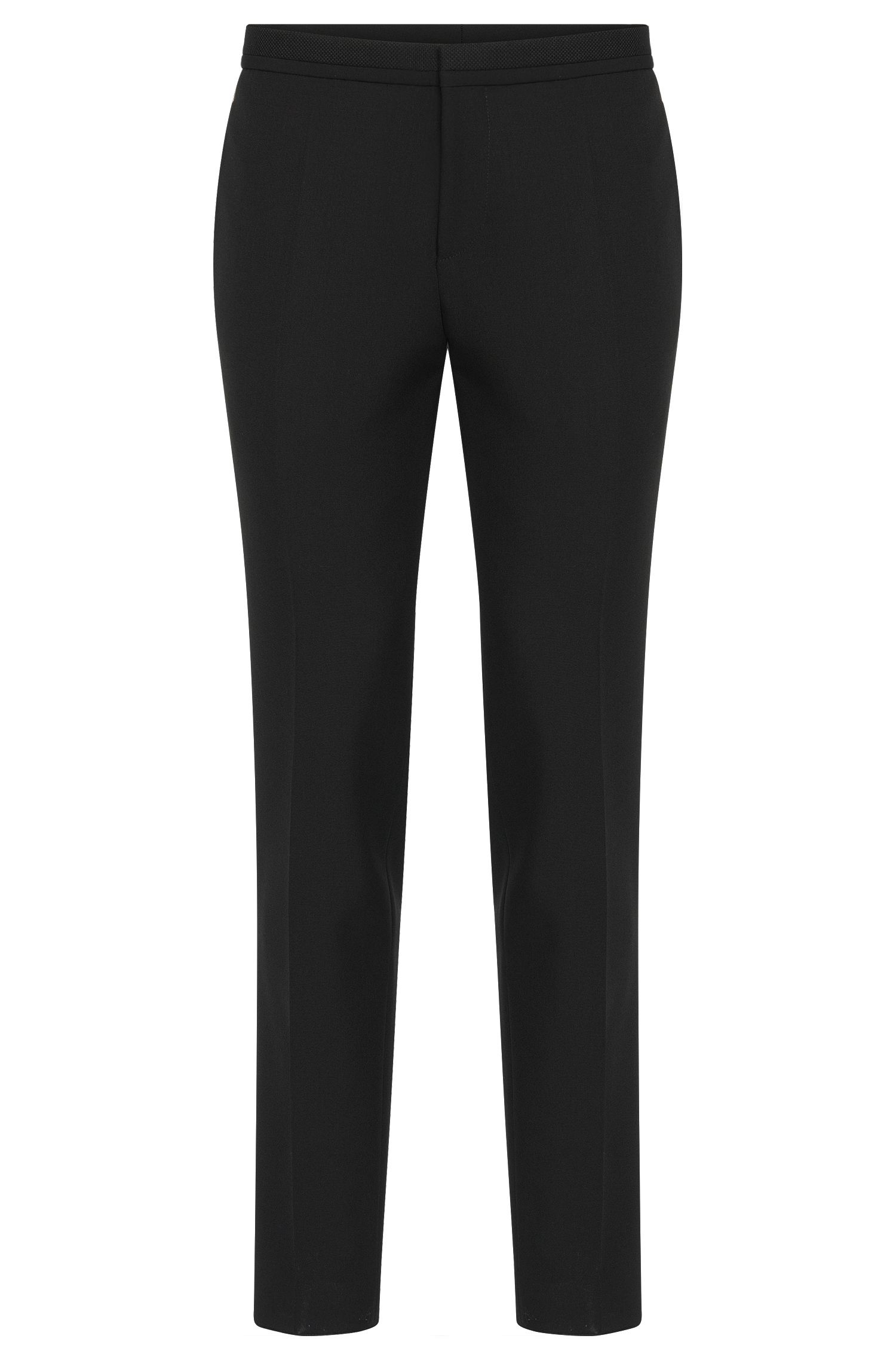 'Wynn' | Extra Slim Fit, Virgin Wool Mohair Dress Pants