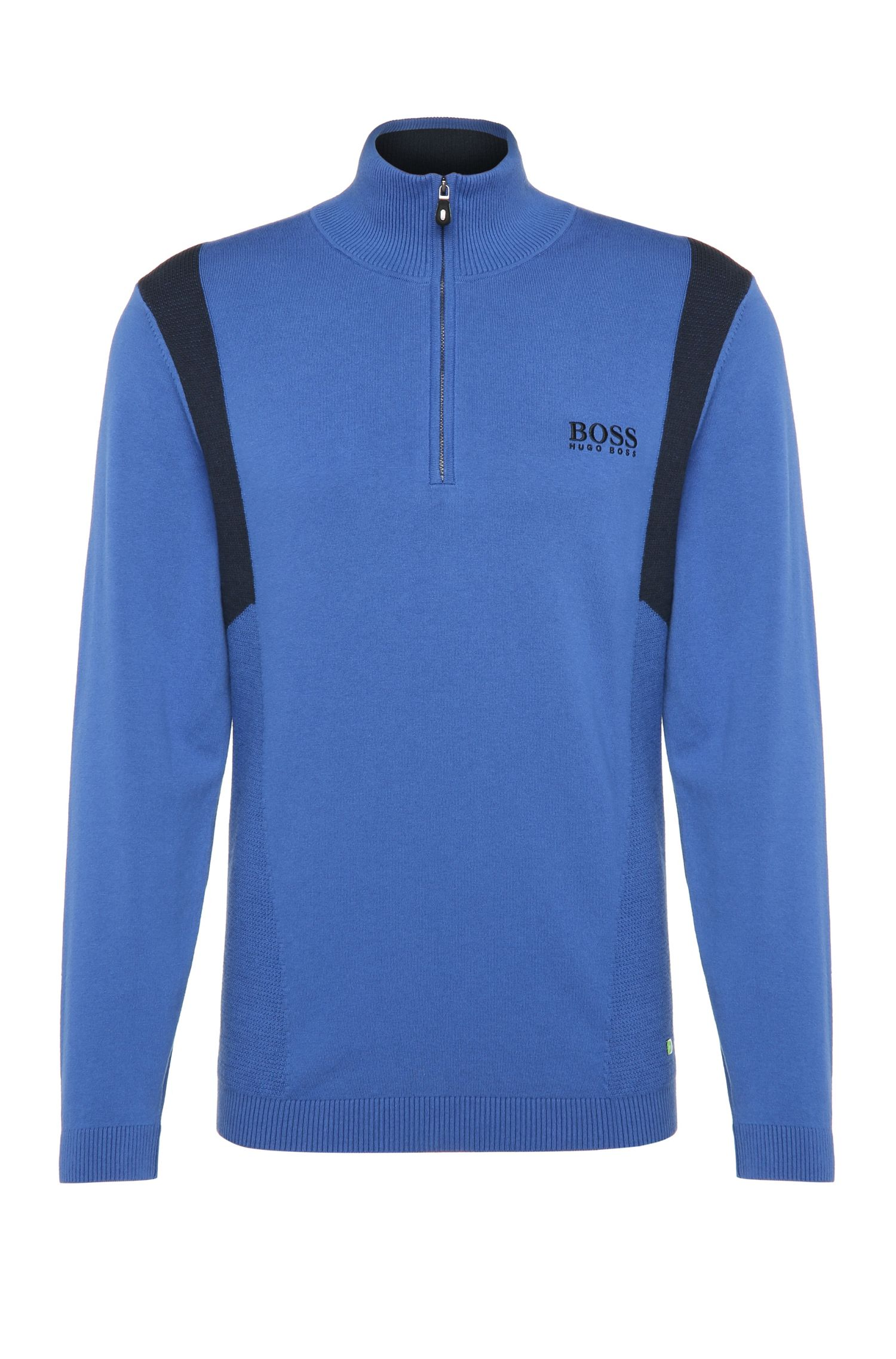 'Zelichior Pro S17'   Water Repellent Stretch Cotton Blend Sweater