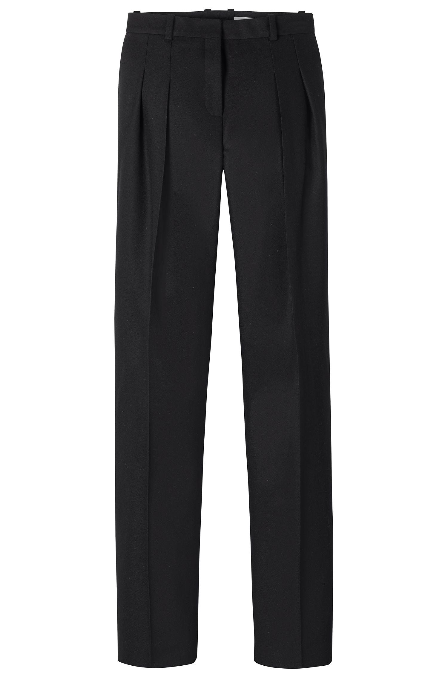 'FS_Temina' | Virgin Wool Cashmere Dress Pants