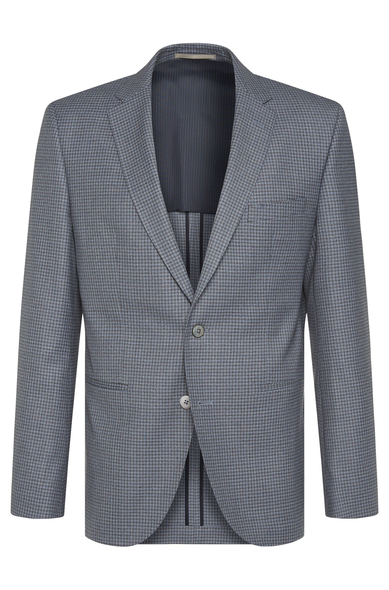 'Jedson' | Regular Fit, Italian Virgin Wool Sport Coat