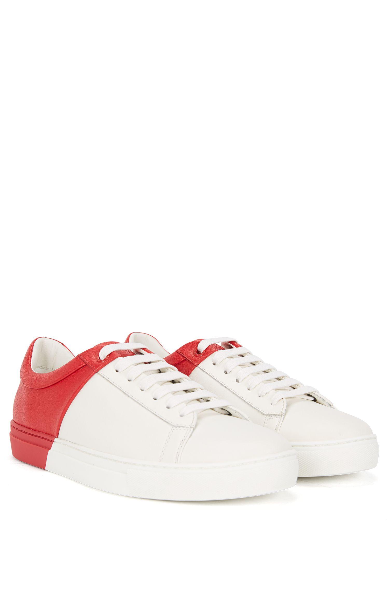 'Bicolor Sneaker' | Calfskin Dual-Tone Sneakers